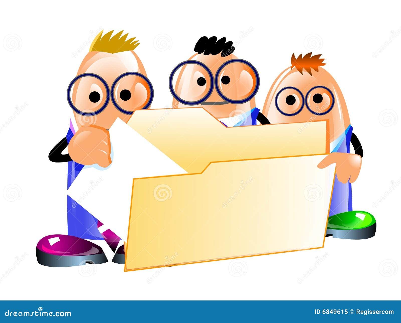 生意人文件文件夹获得