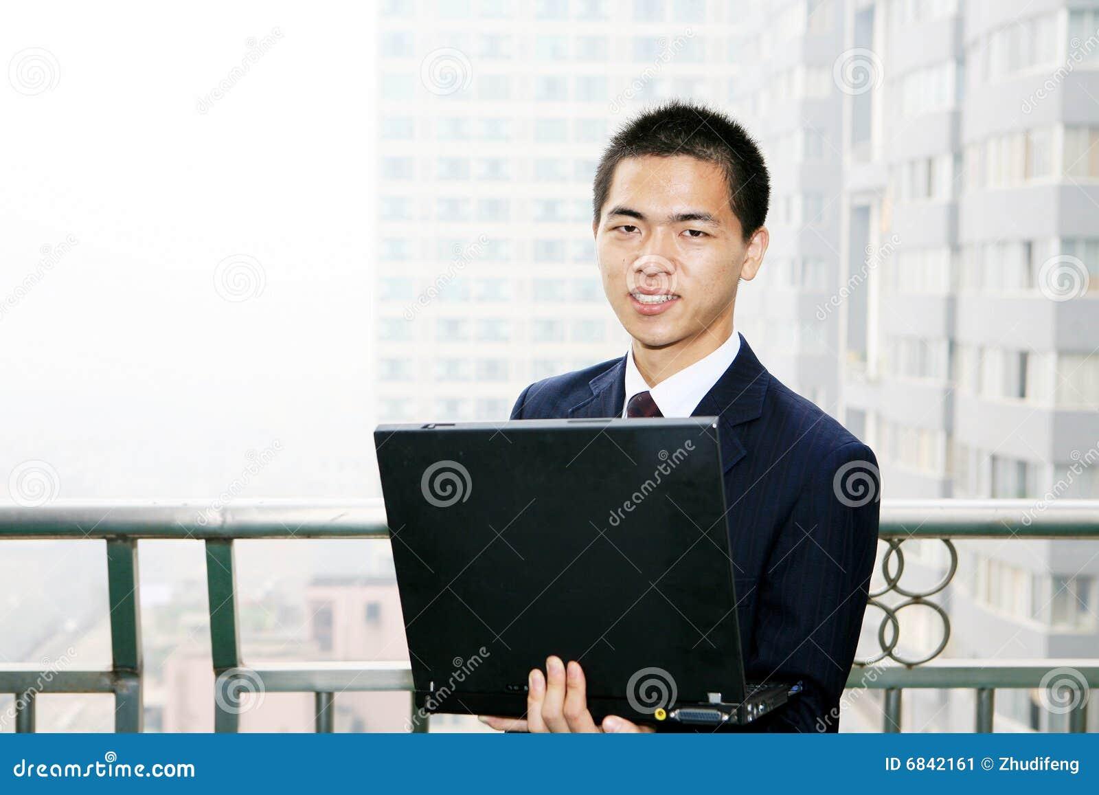 生意人计算机藏品膝上型计算机