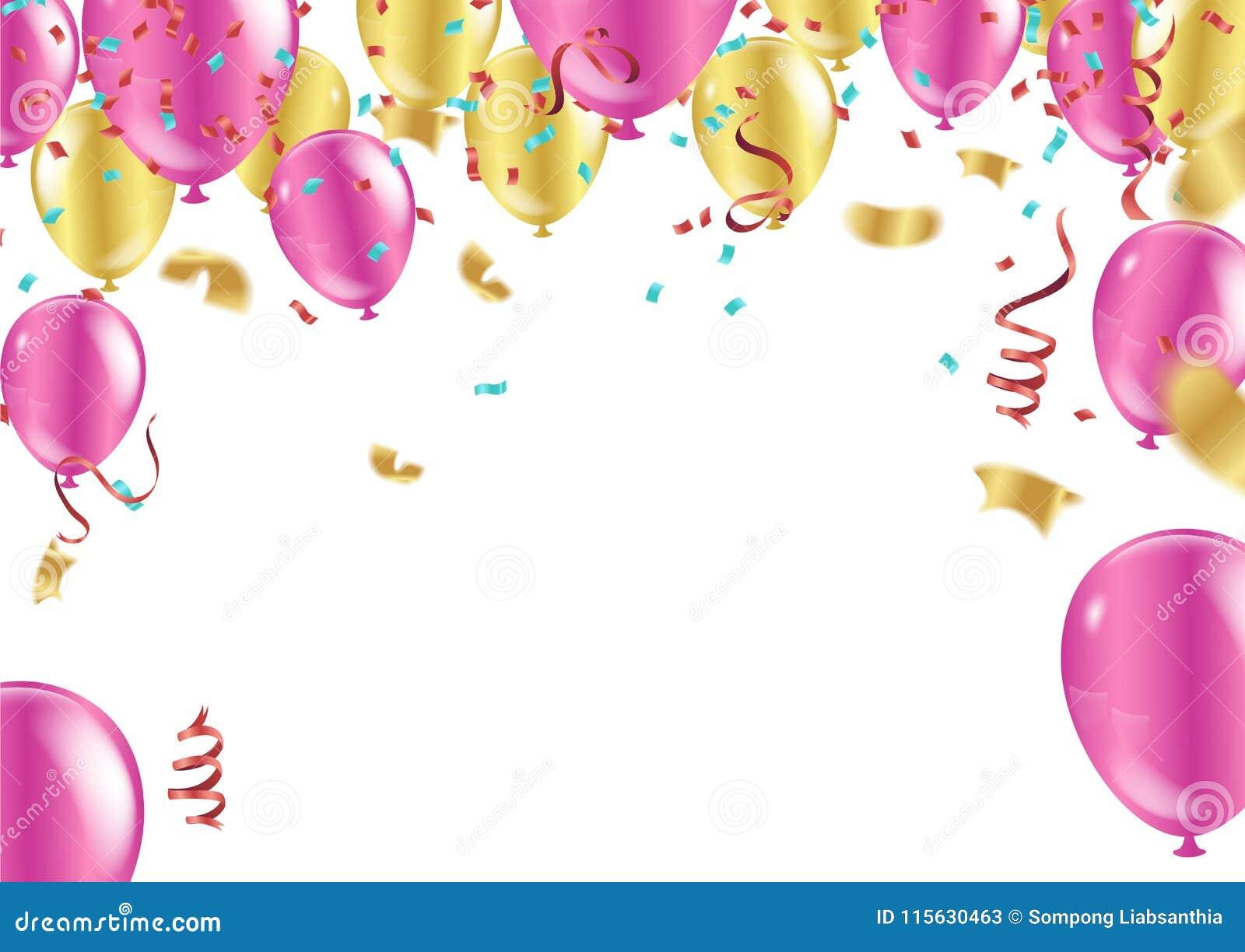 生日快乐印刷术贺卡和p的传染媒介设计