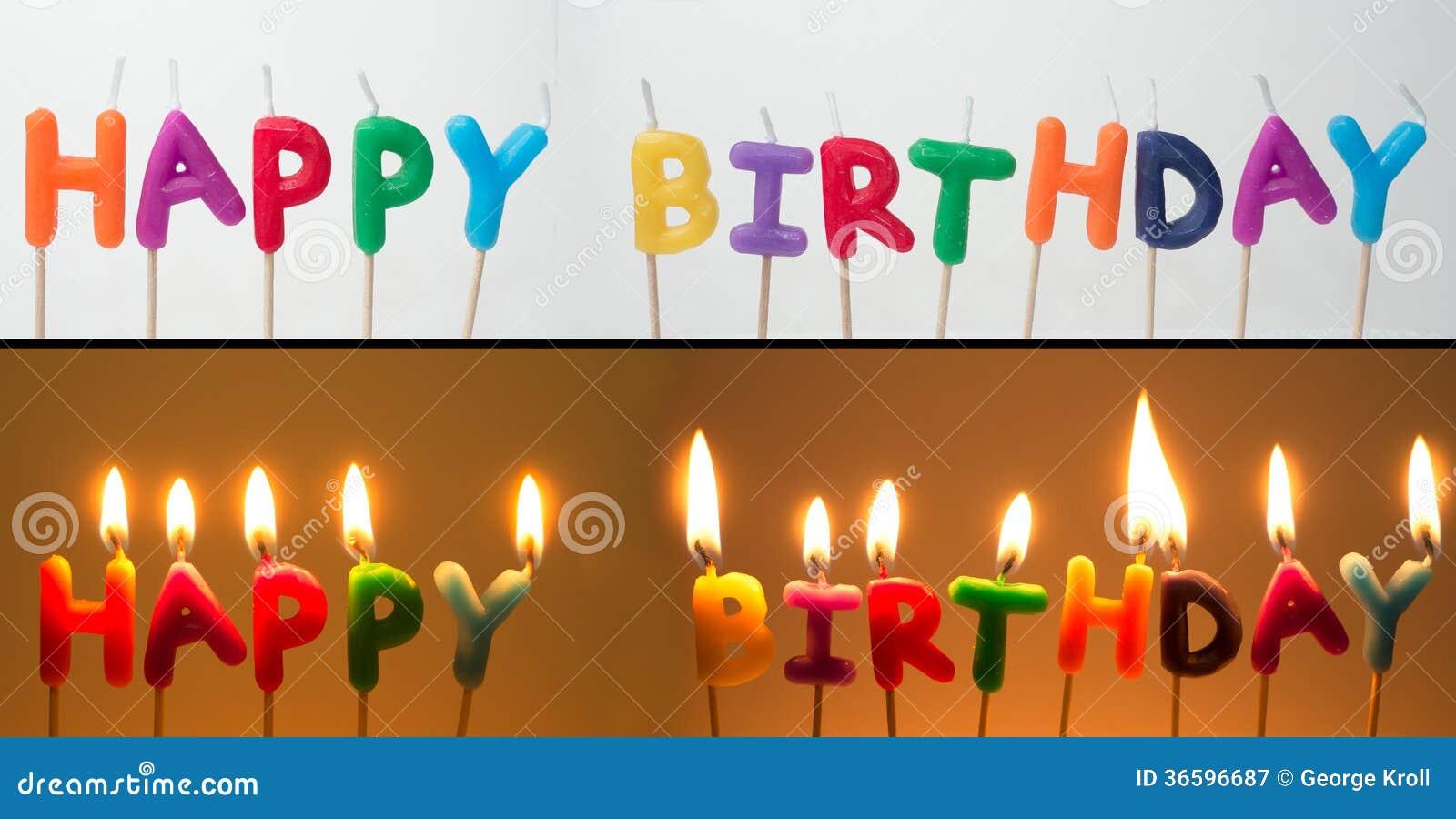 生日快乐蜡烛