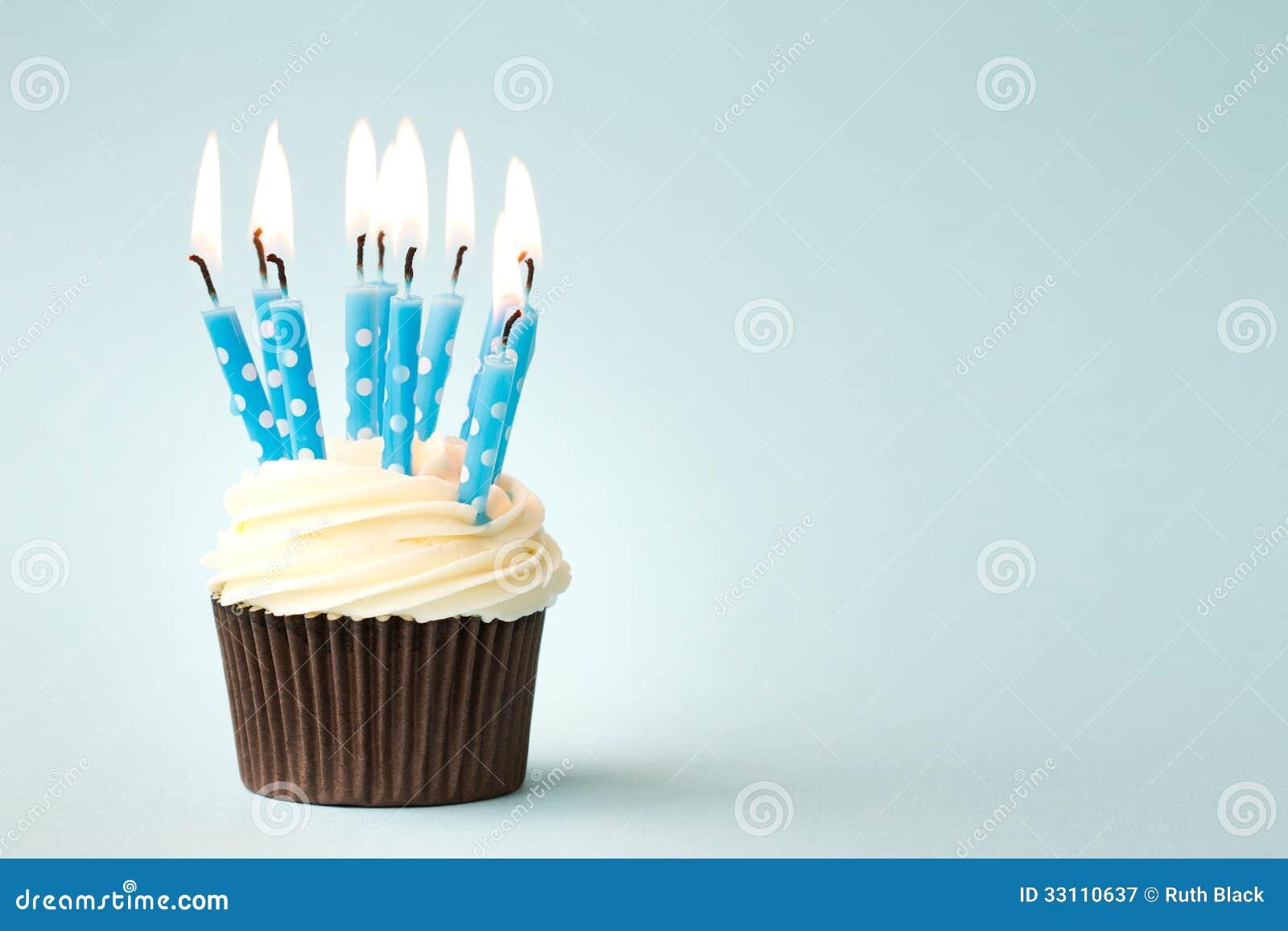 生日杯形蛋糕