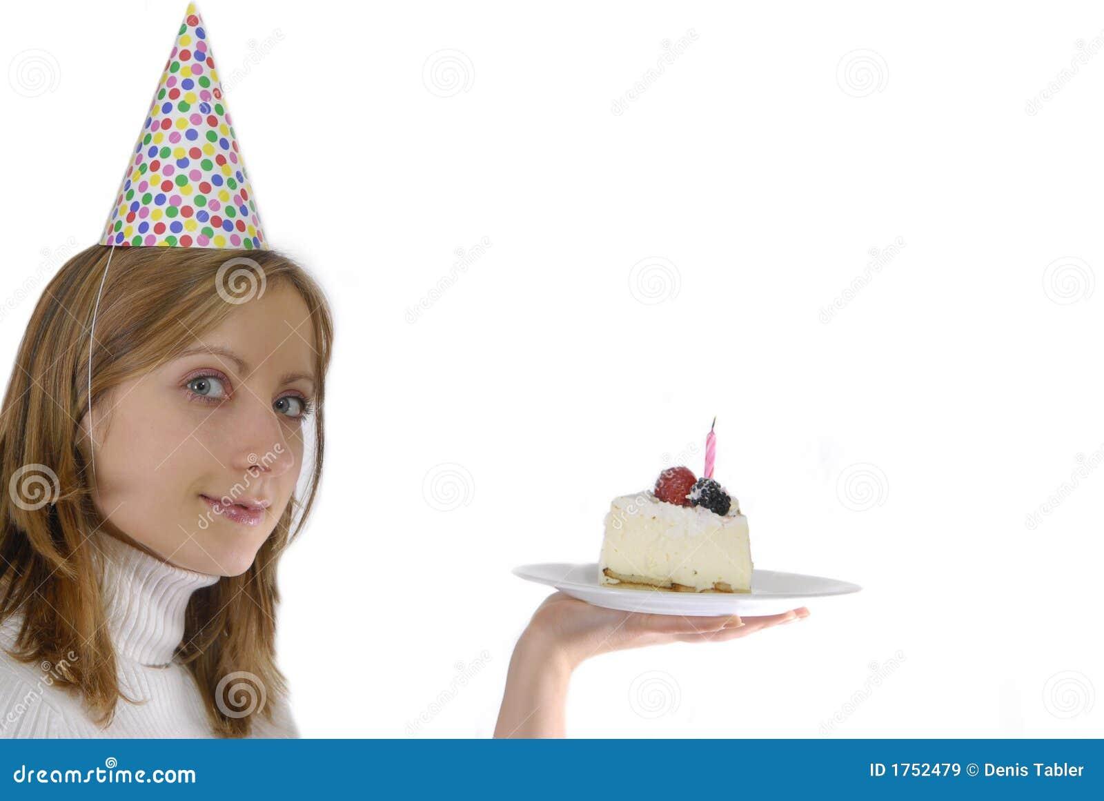 生日蛋糕妇女