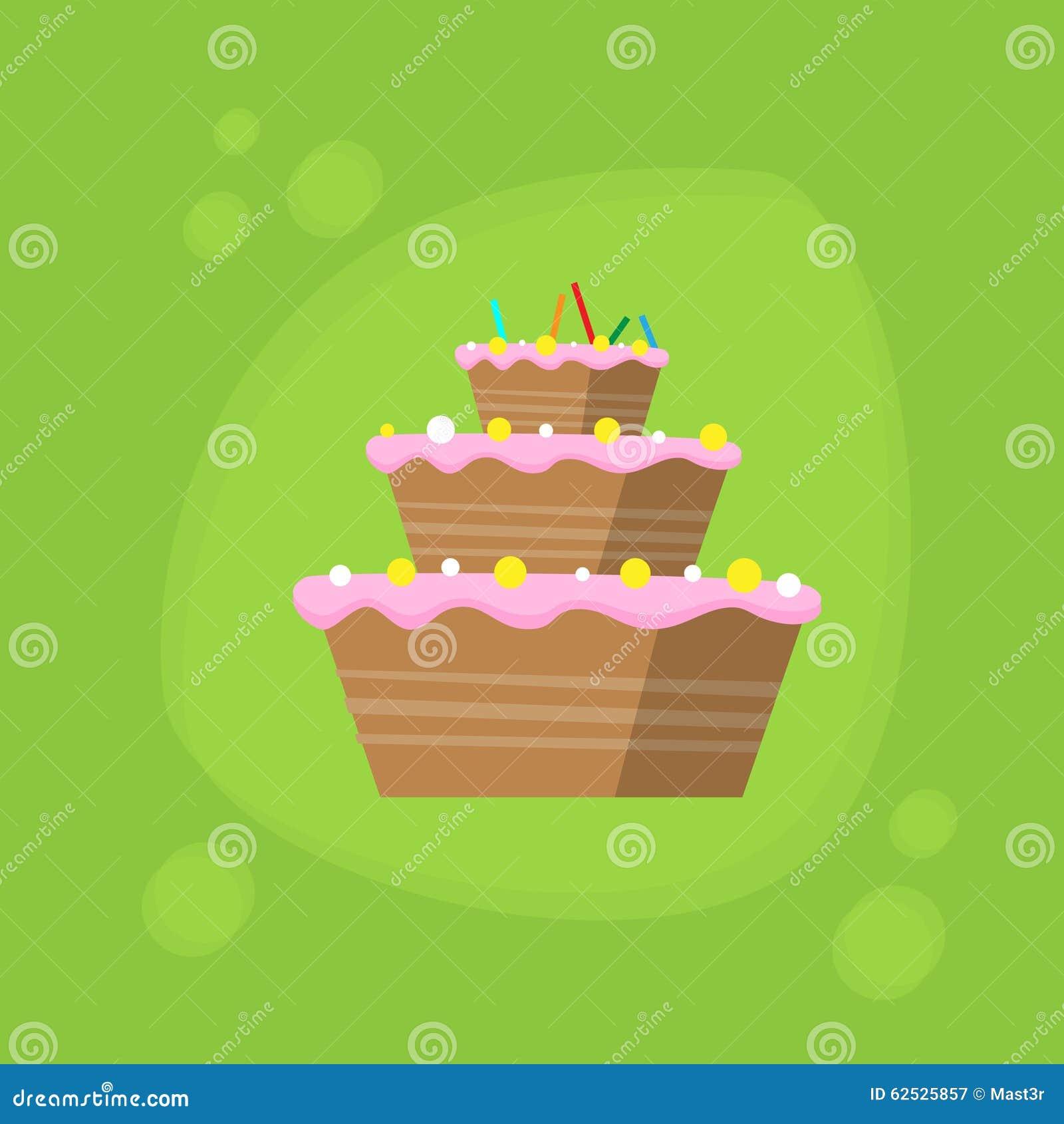 生日蛋糕象平的传染媒介