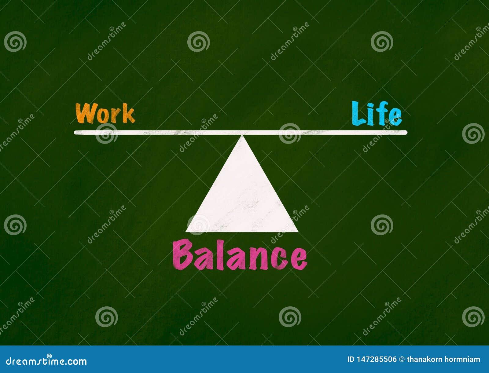 生活和平衡概念背景