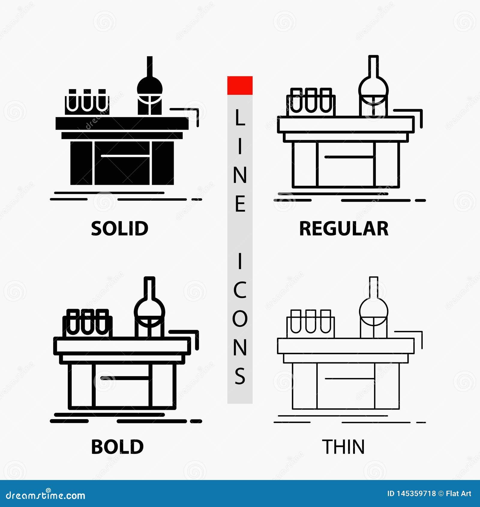 生物,化学,实验室,实验室,在稀薄,规则,大胆的线和纵的沟纹样式的生产象 r
