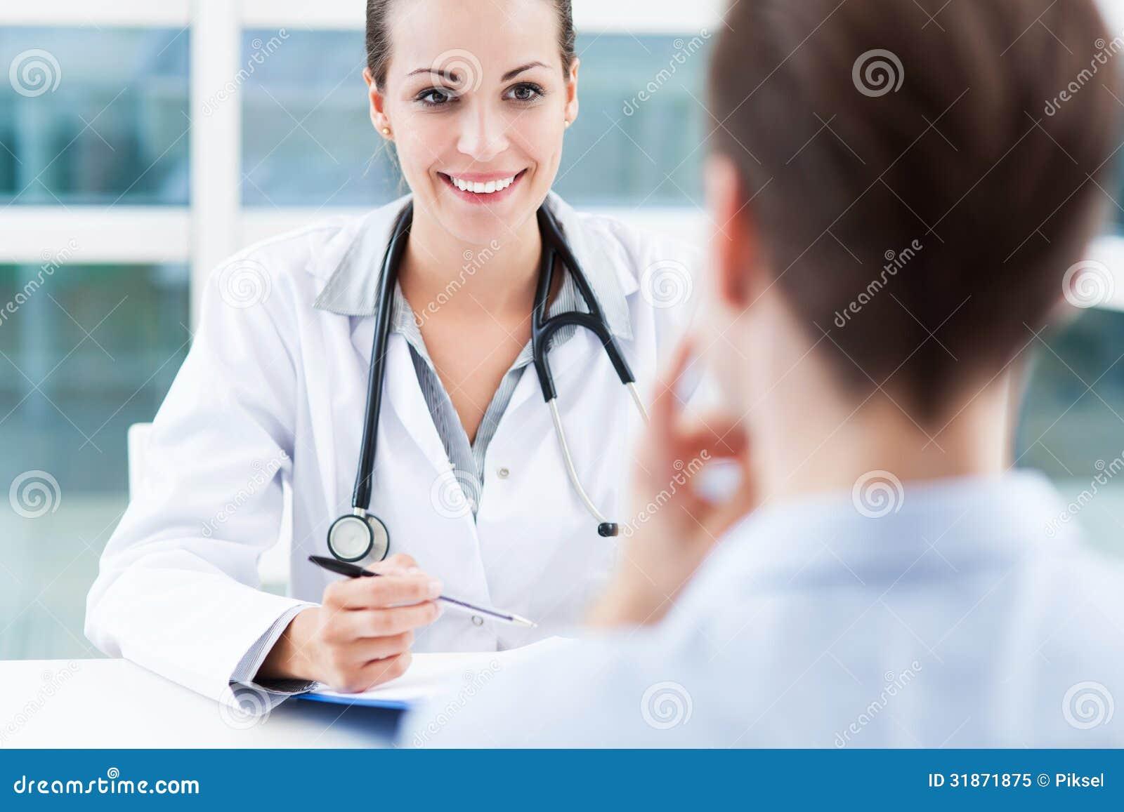 医生谈话与患者
