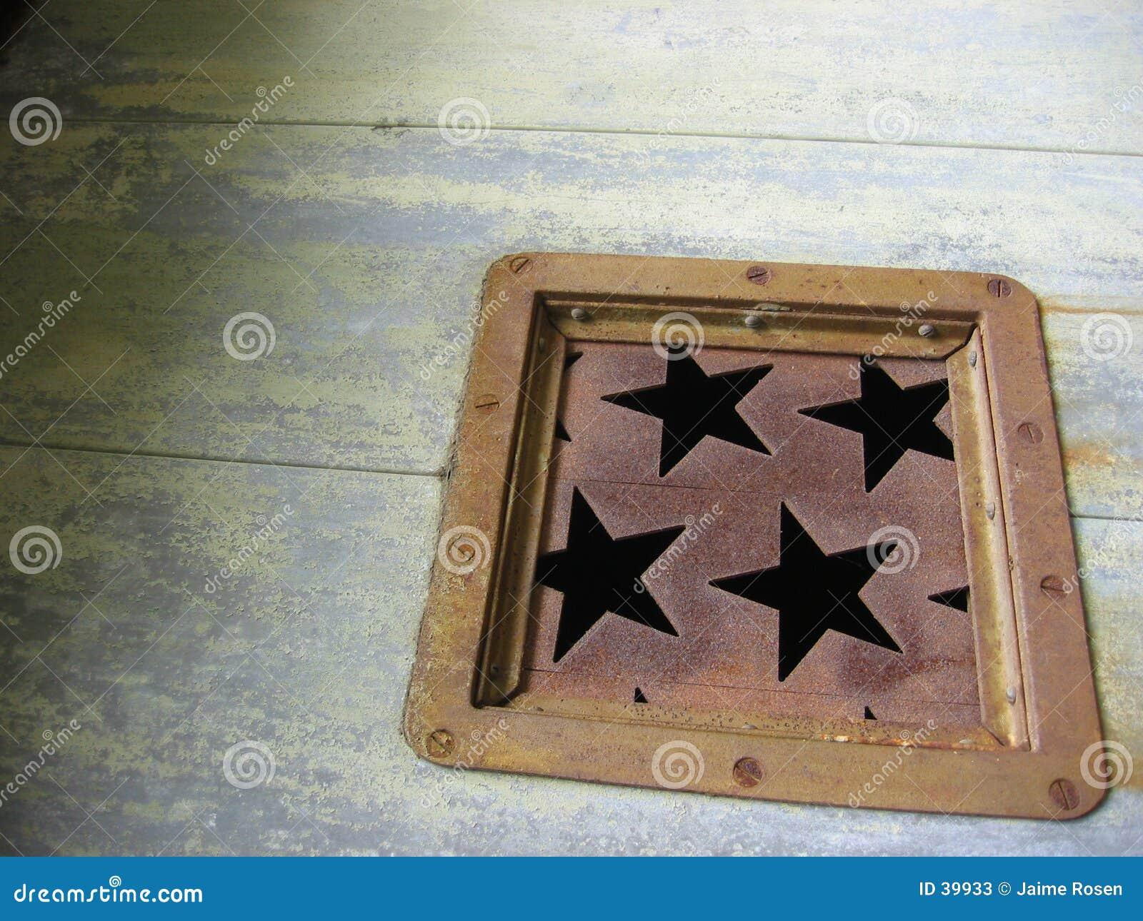 生锈的星形