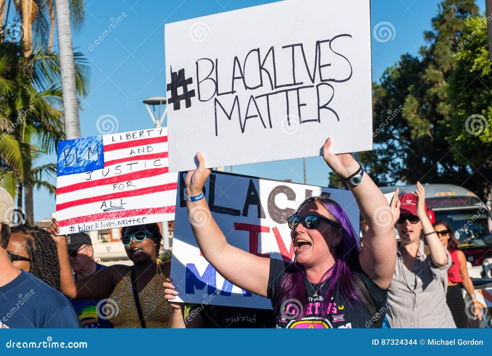 黑生活问题抗议