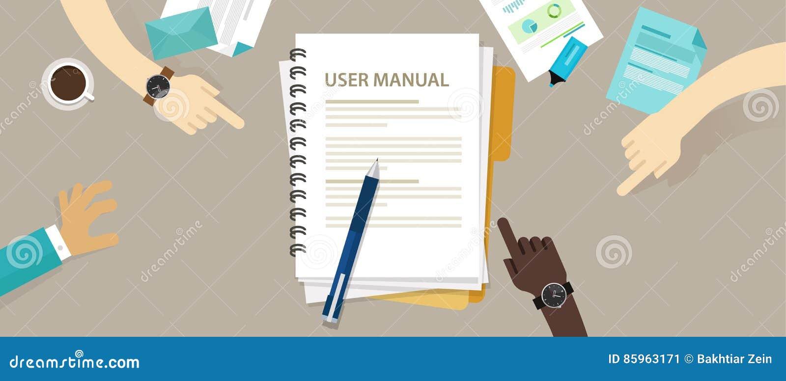 用户指南手工说明书文件纸参考