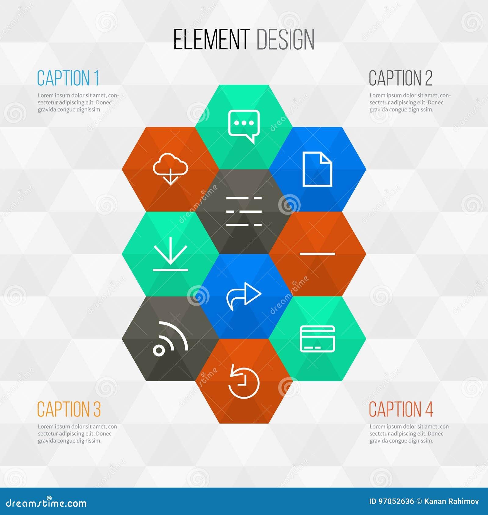 用户被设置的概述象 汇集去除,存贮和前面其他元素 并且包括标志例如权利