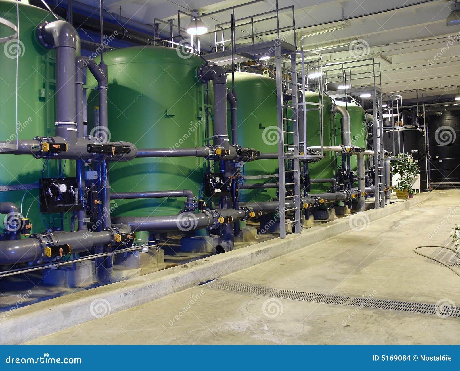 用管道输送处理水