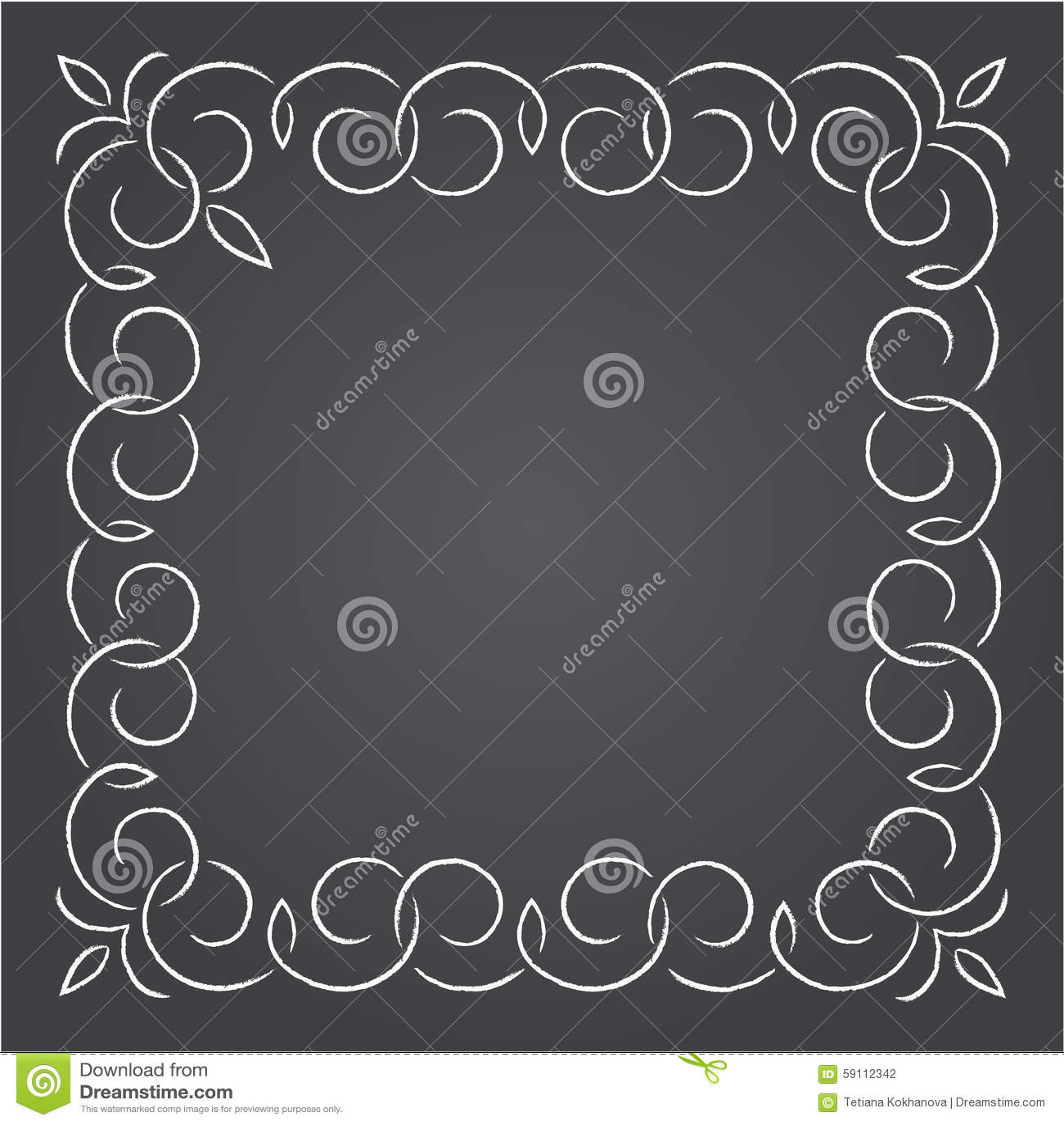 用粉笔写在黑板的减速火箭的图表线元、分切器和组合图案框架,