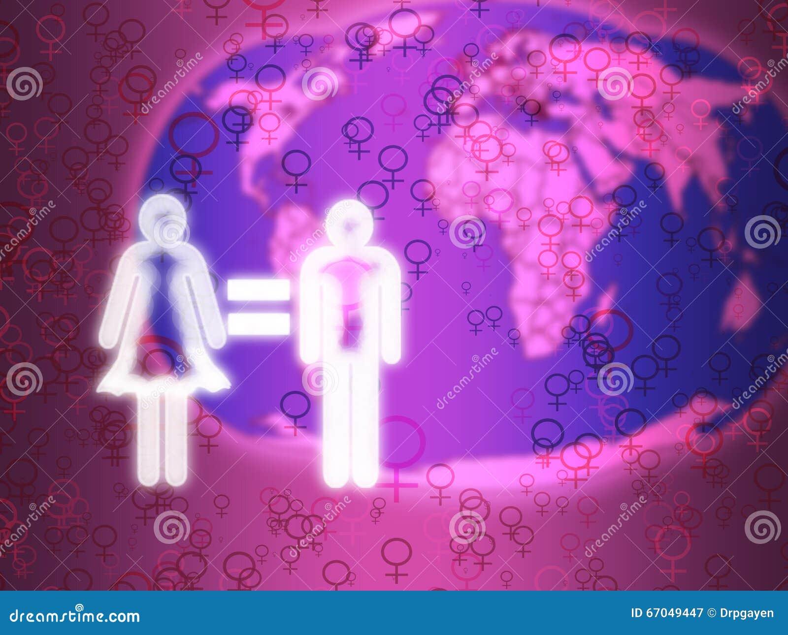 由心脏承诺男女平等