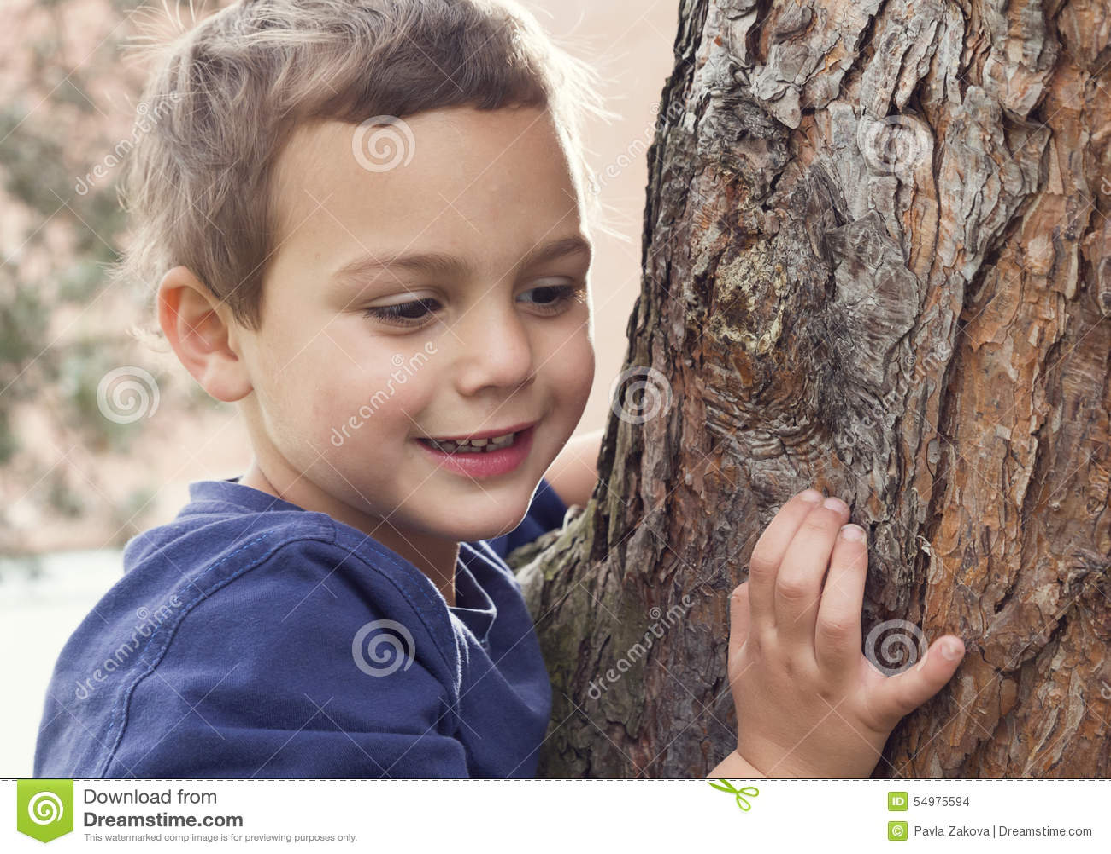 由树的儿童画象