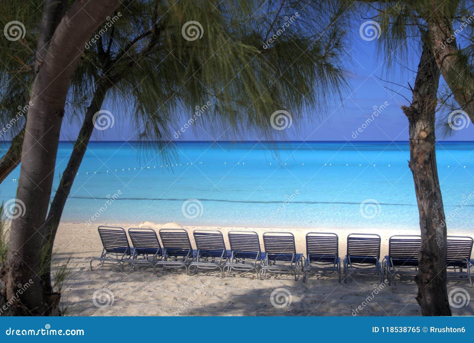 由海的可躺式椅