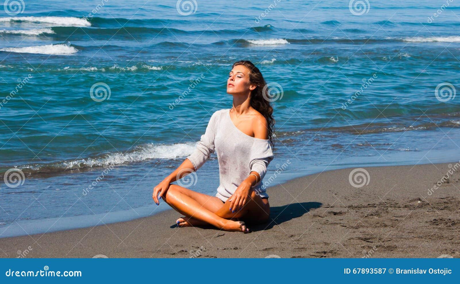 由海的Sunbath