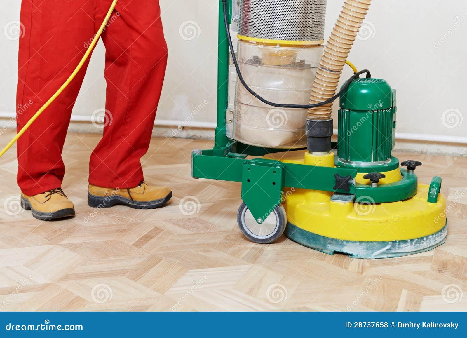 由磨床的镶花地板维护