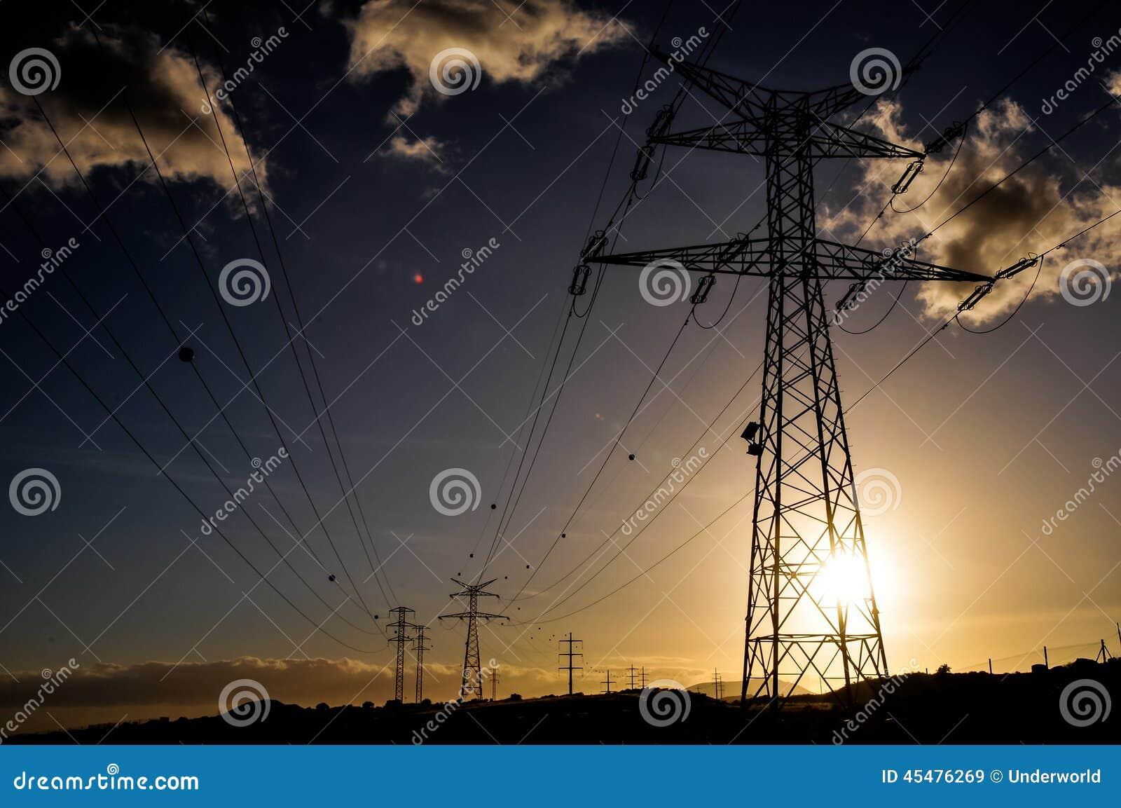 电力量定向塔