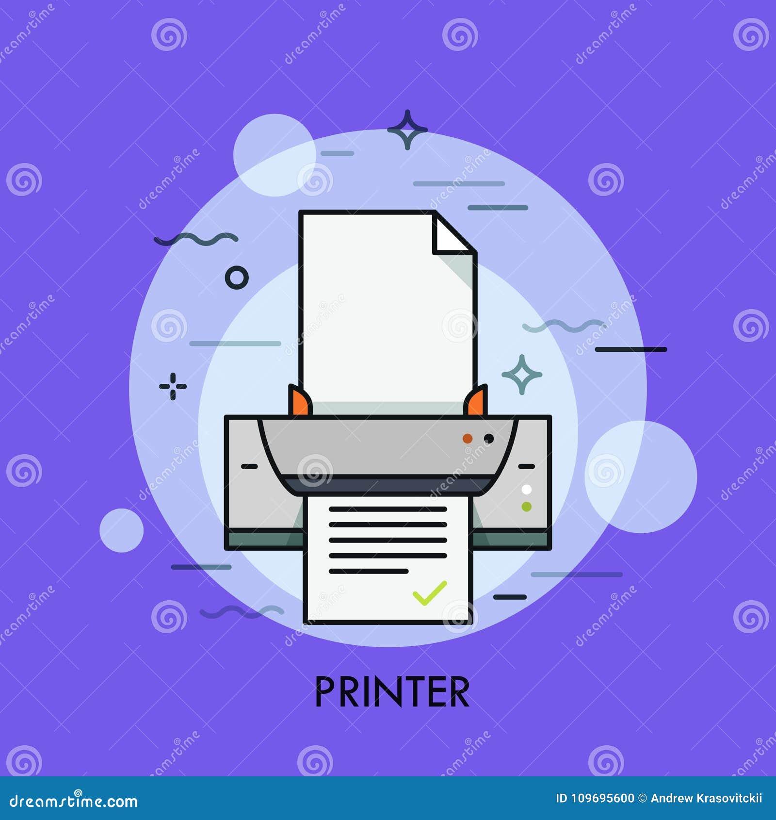 电子印象机、硬件装置纸张文件的或照片再生产 数字式,点矩阵和喷墨机的概念