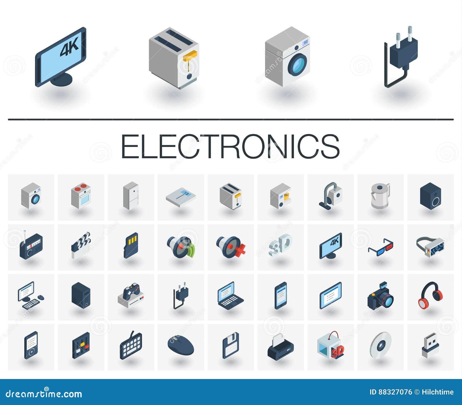 电子和多媒体等量象 3d向量
