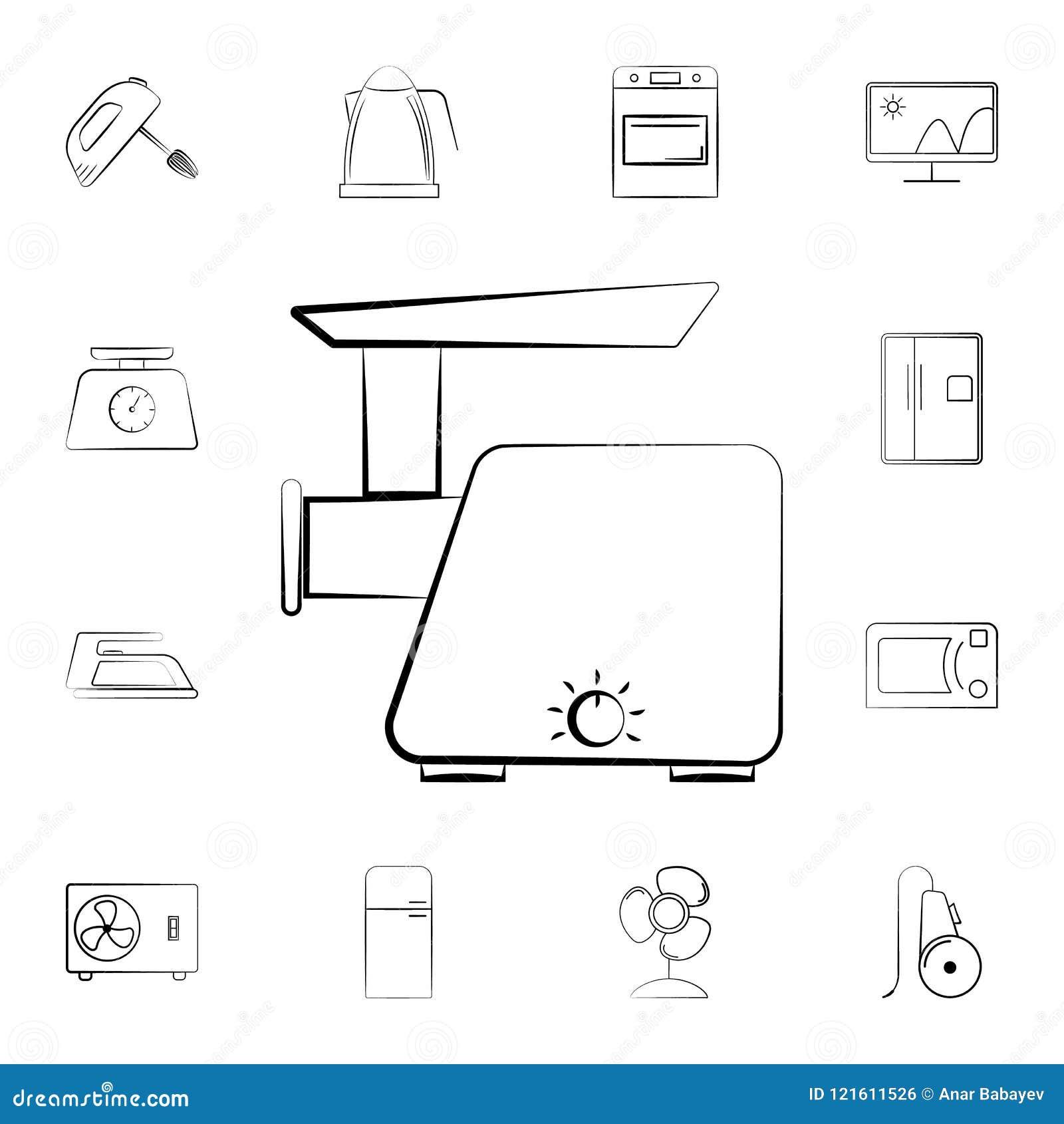 电子天平象 详细的套家电 优质图形设计 其中一个网站的汇集象,网de