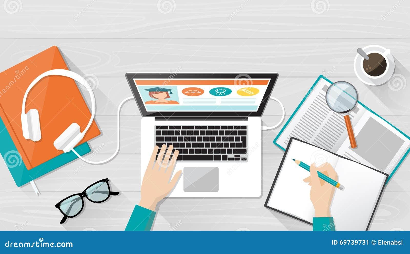 电子教学和教育