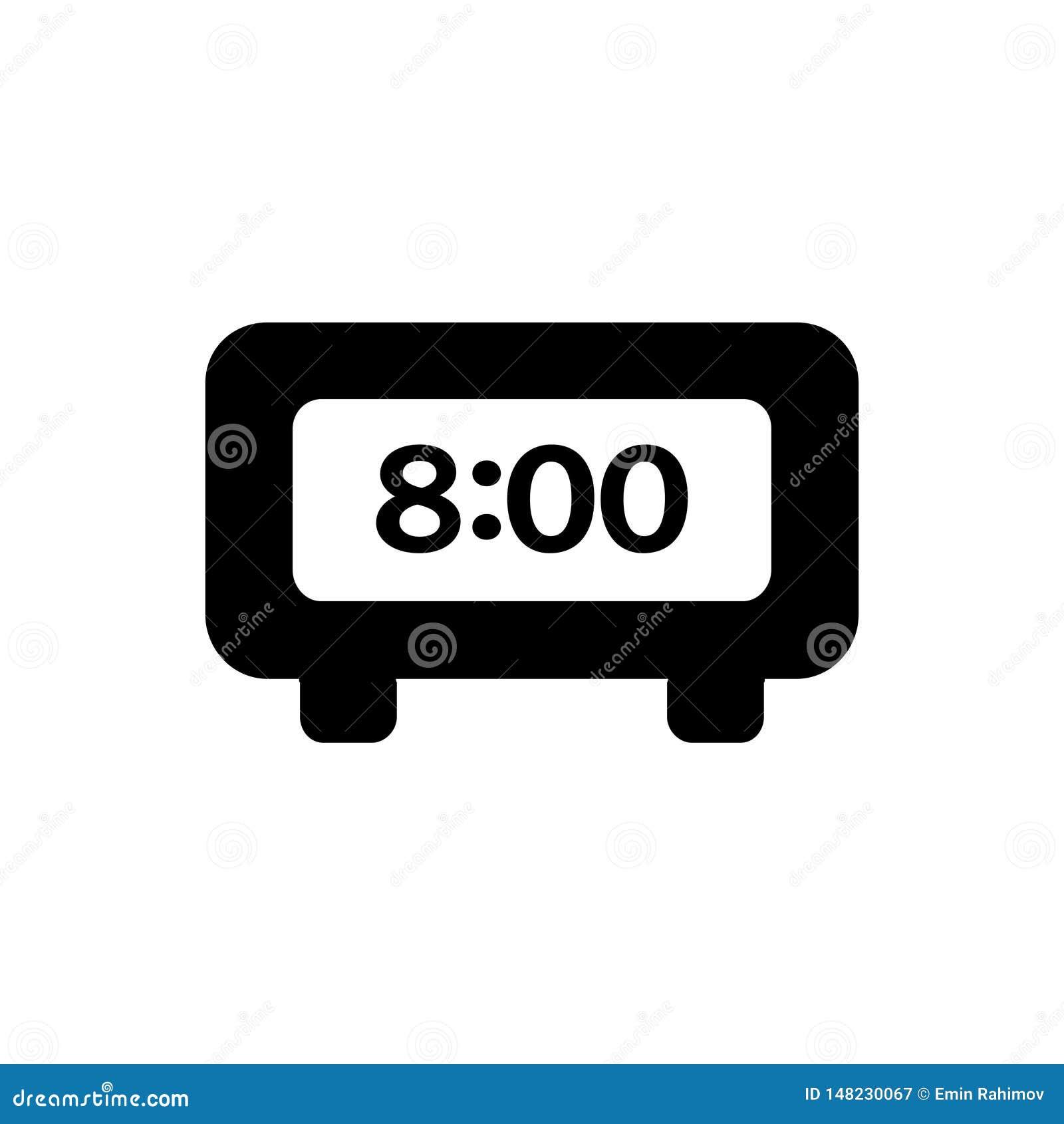 电子时钟8个小时