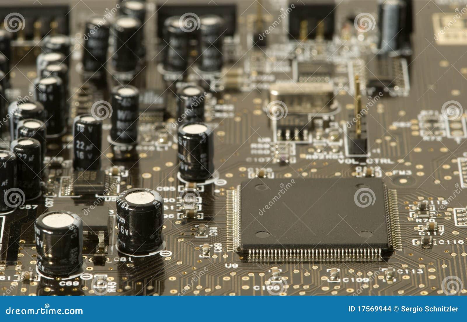 电子的看板卡