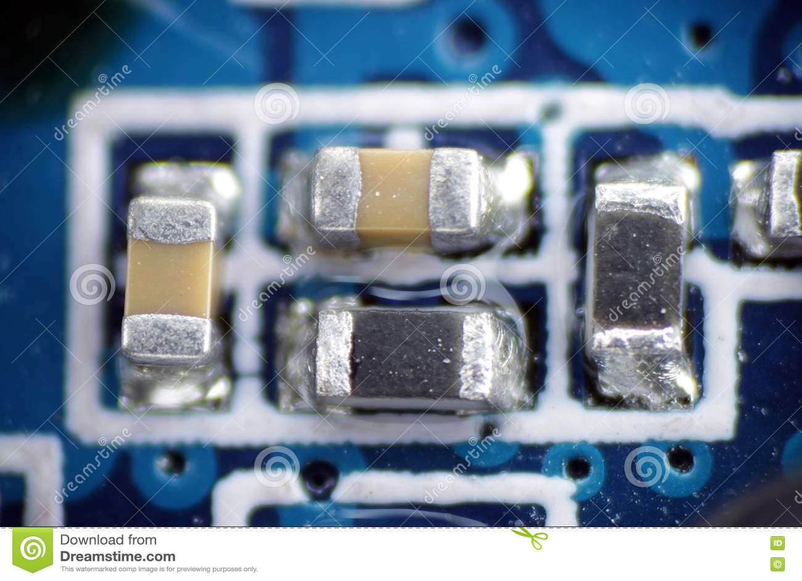 电容器电阻器smd pcb宏指令