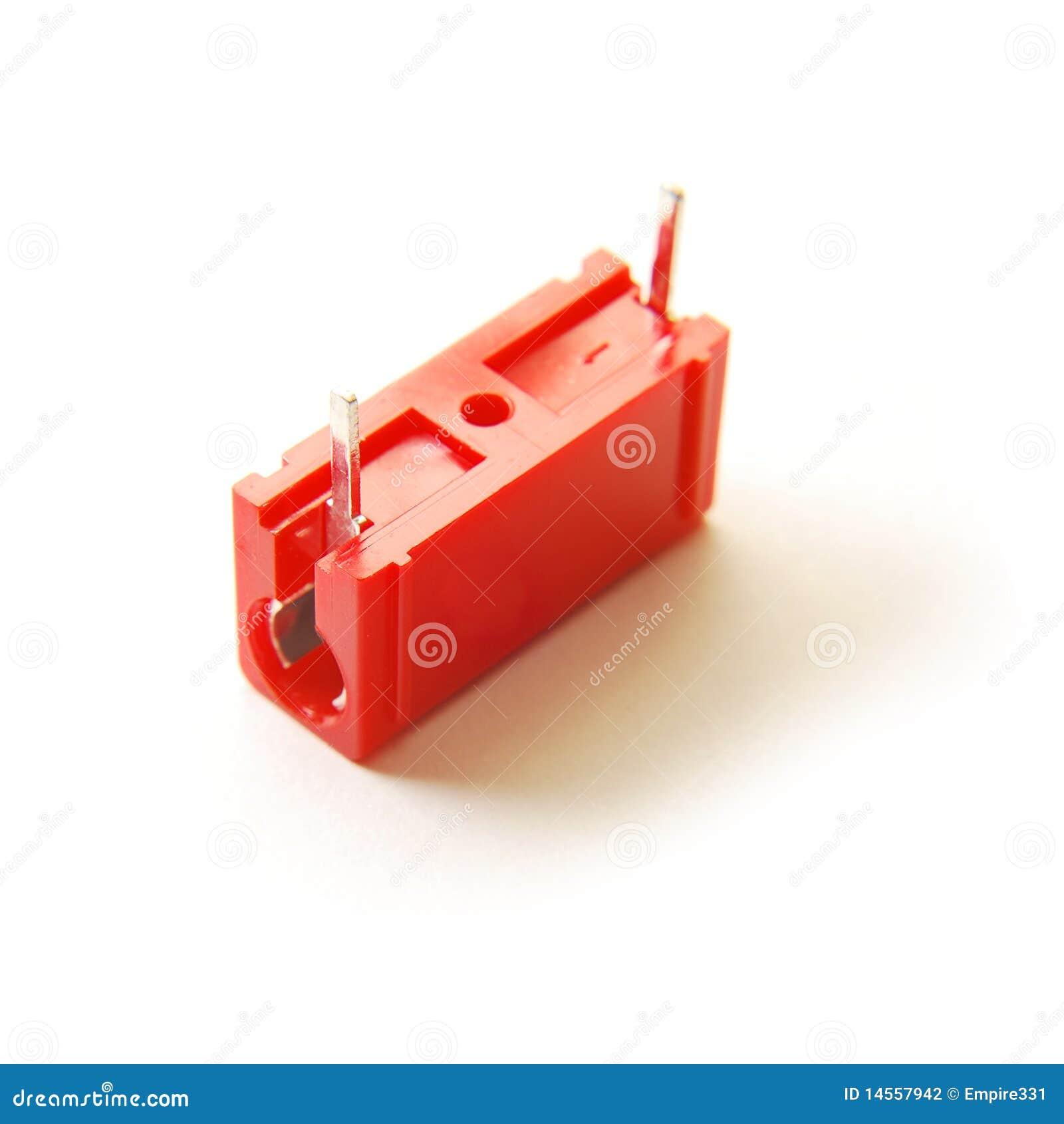 电容器红色