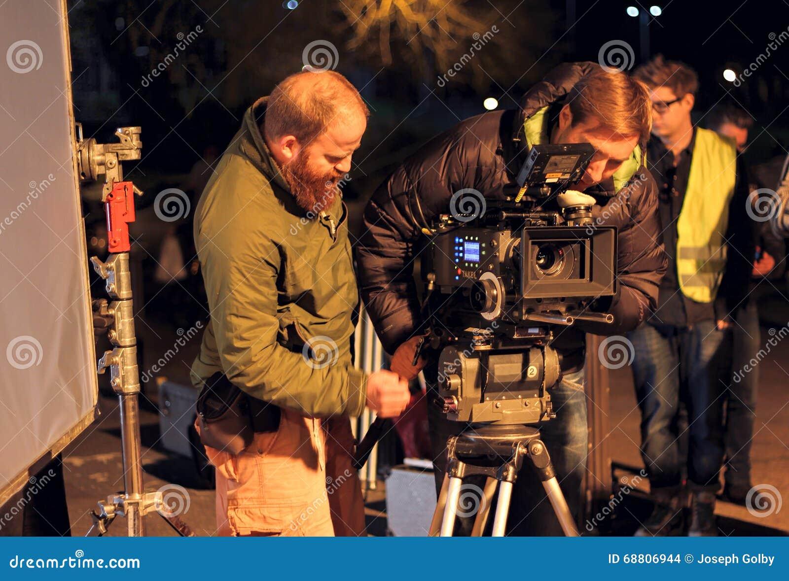 4k arri alexa照相机&电影摄影师.