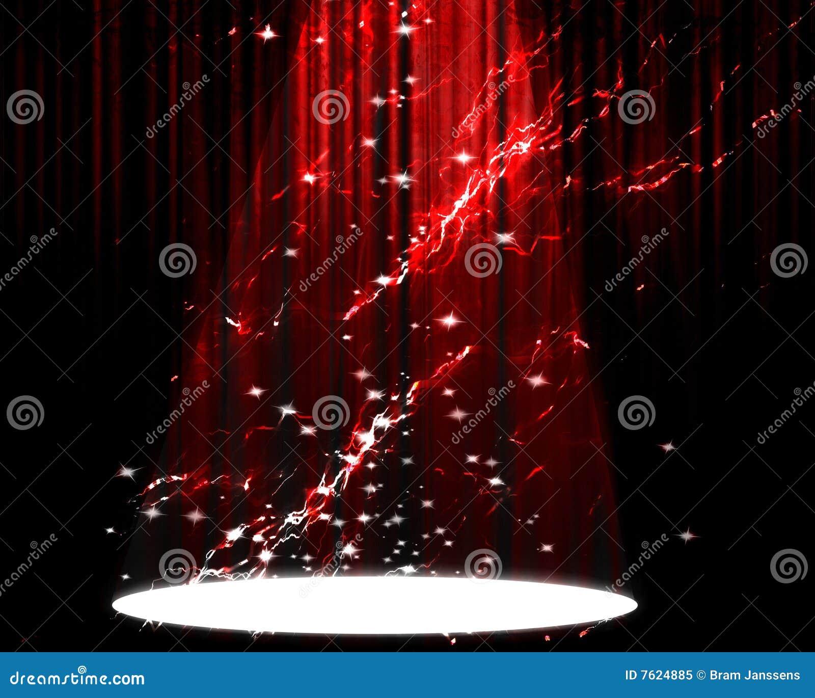 电影或剧院窗帘