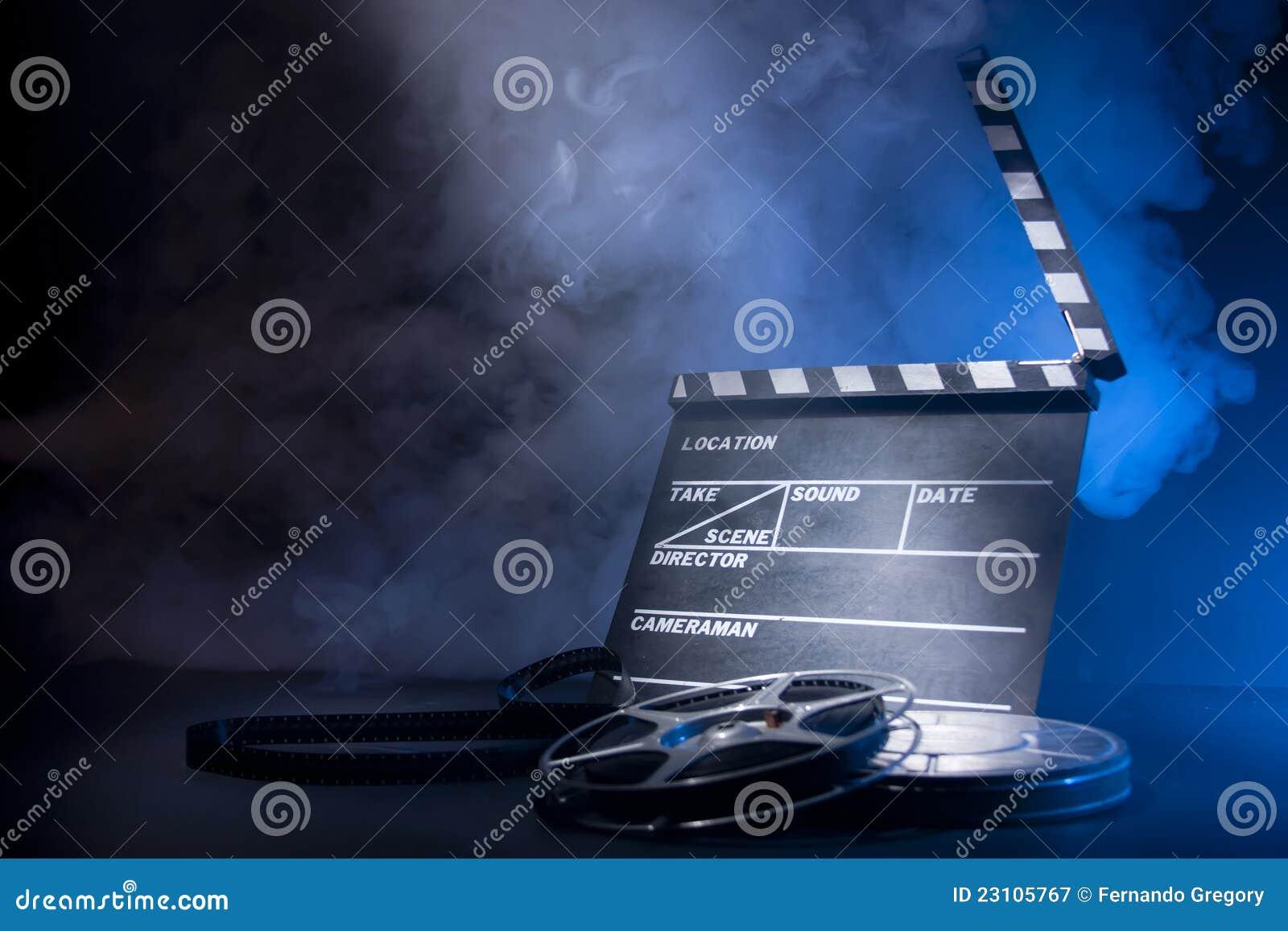 电影拍板和影片轴