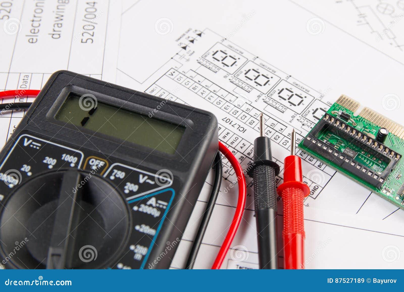 电机工程图画、电子委员会和数字式mu