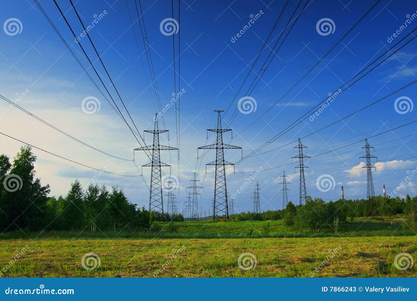 电横向线路次幂