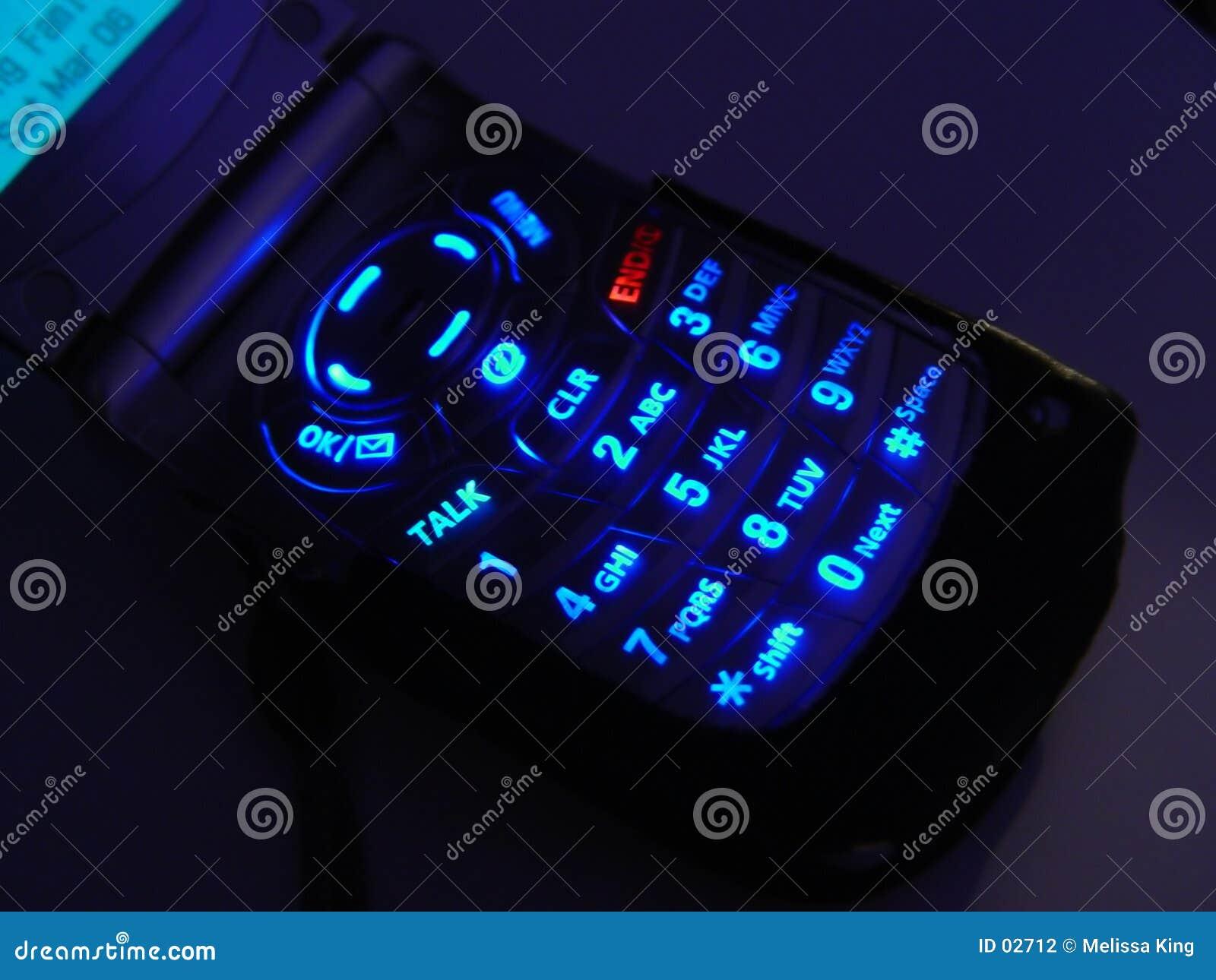 电池黑暗电话