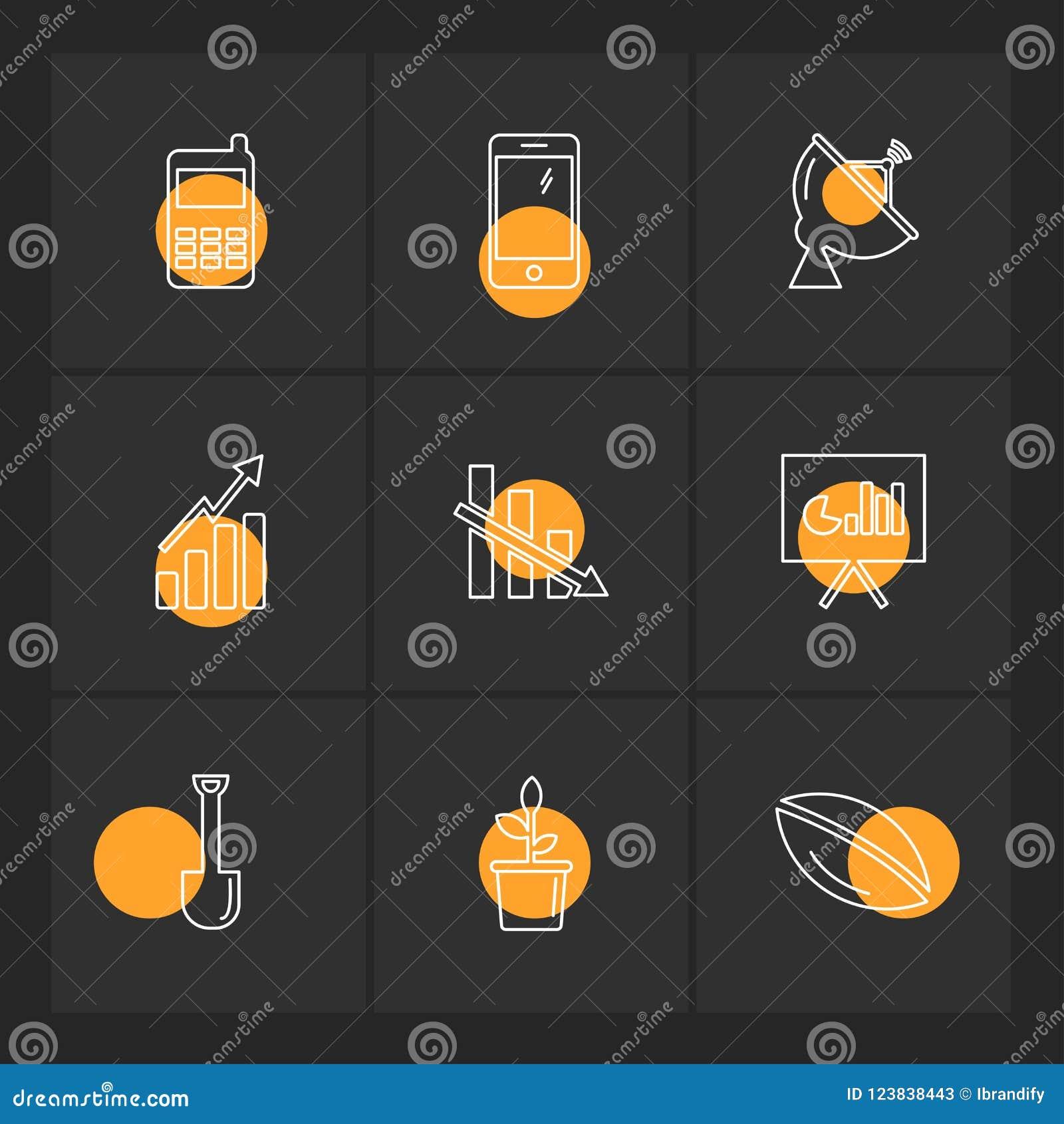 电池,份额,图,信号,连通性,被设置的eps象