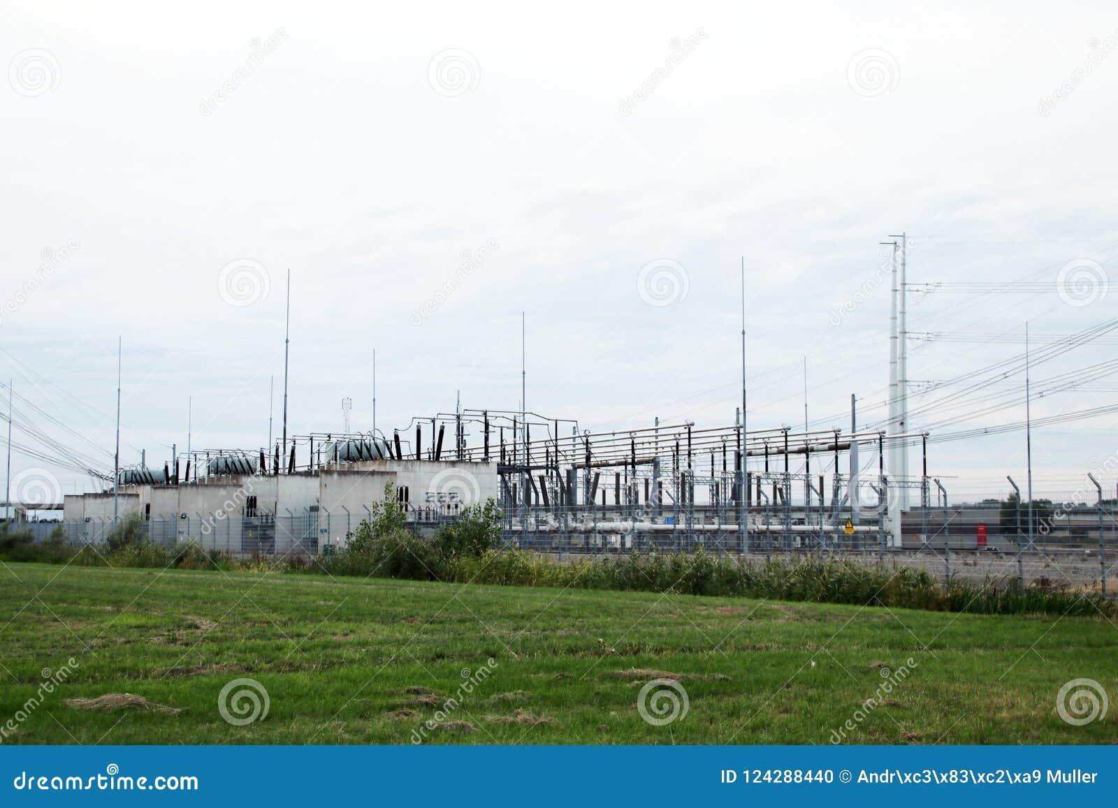 电源接头和发行驻地在Bleiswijk, lansingerland