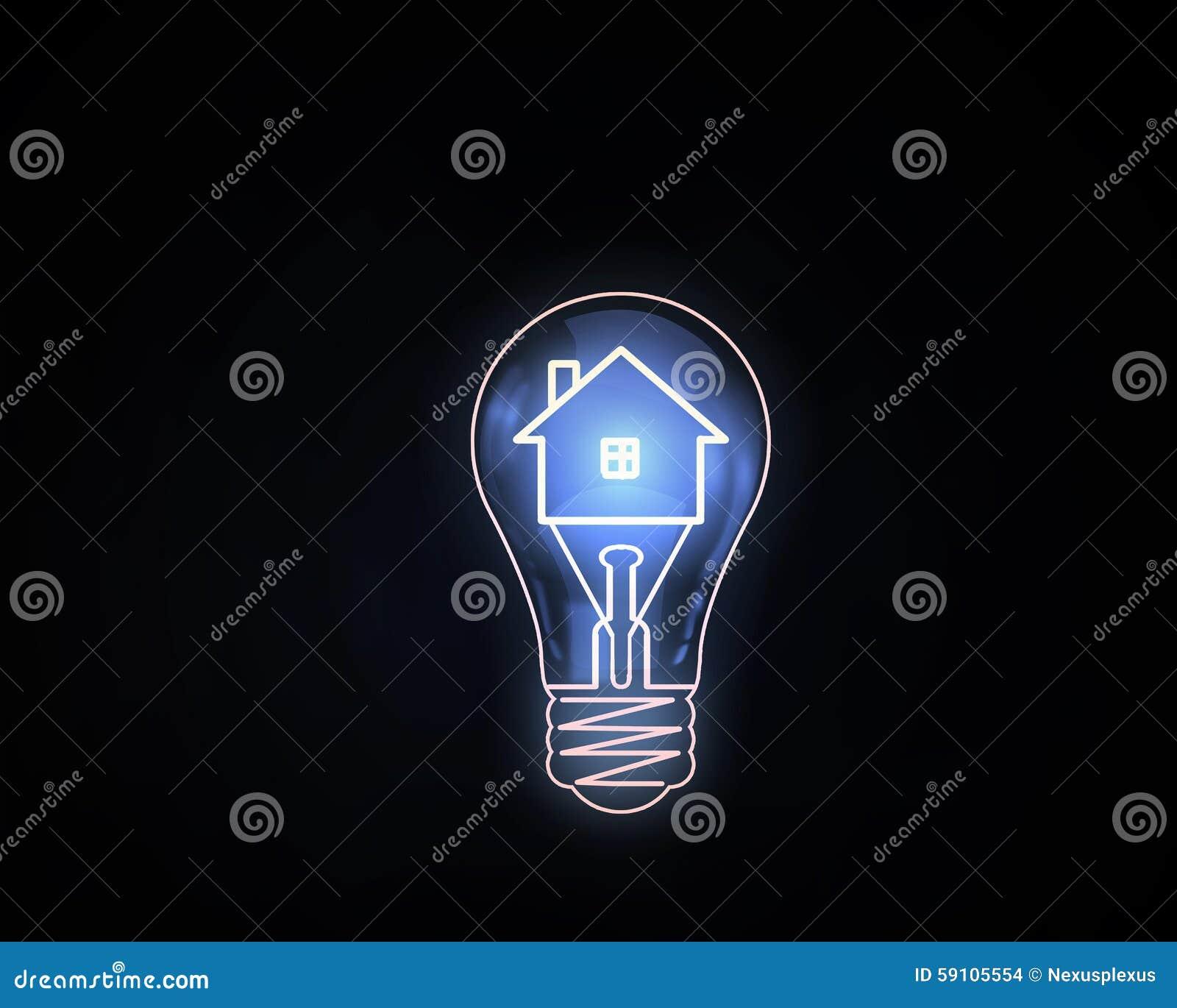 电灯泡概念想法例证光向量