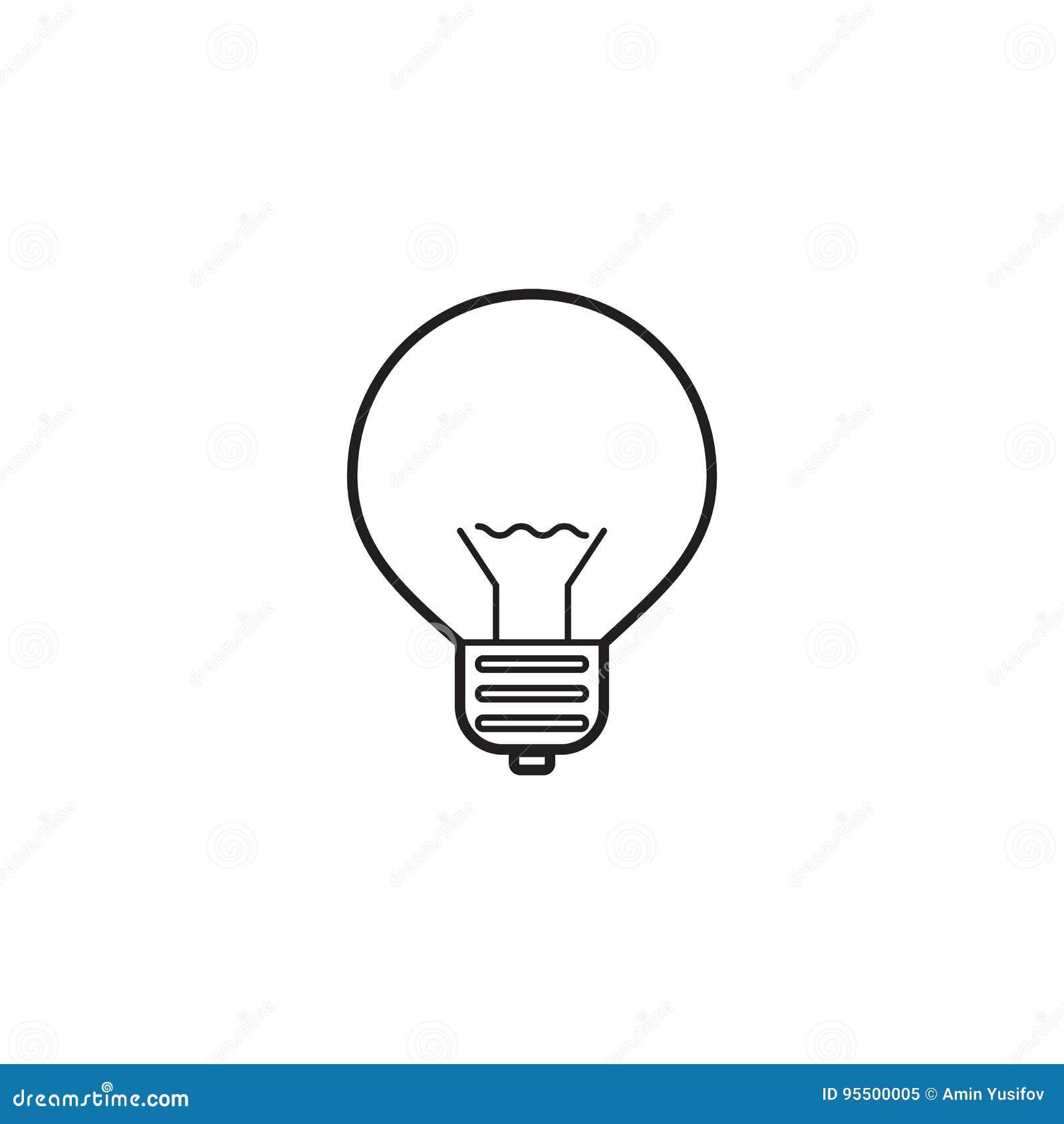 电灯泡线象,灯概述传染媒介商标