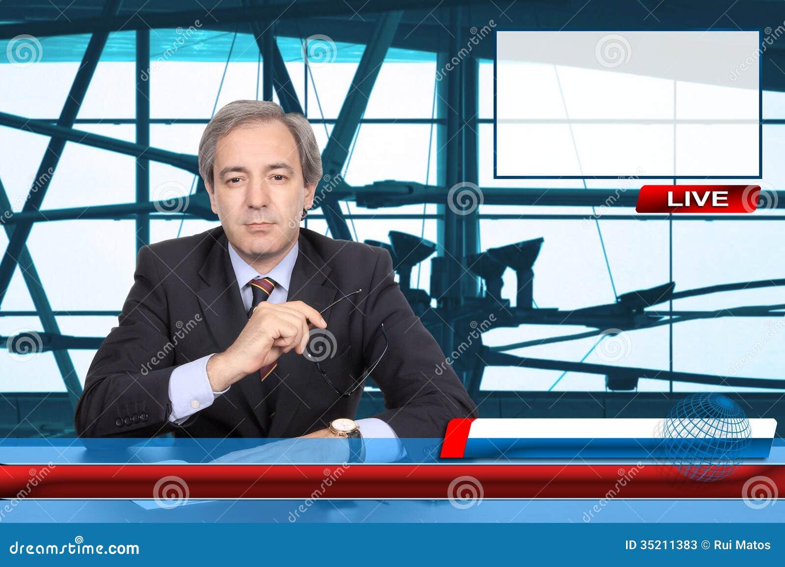 电视快讯记者