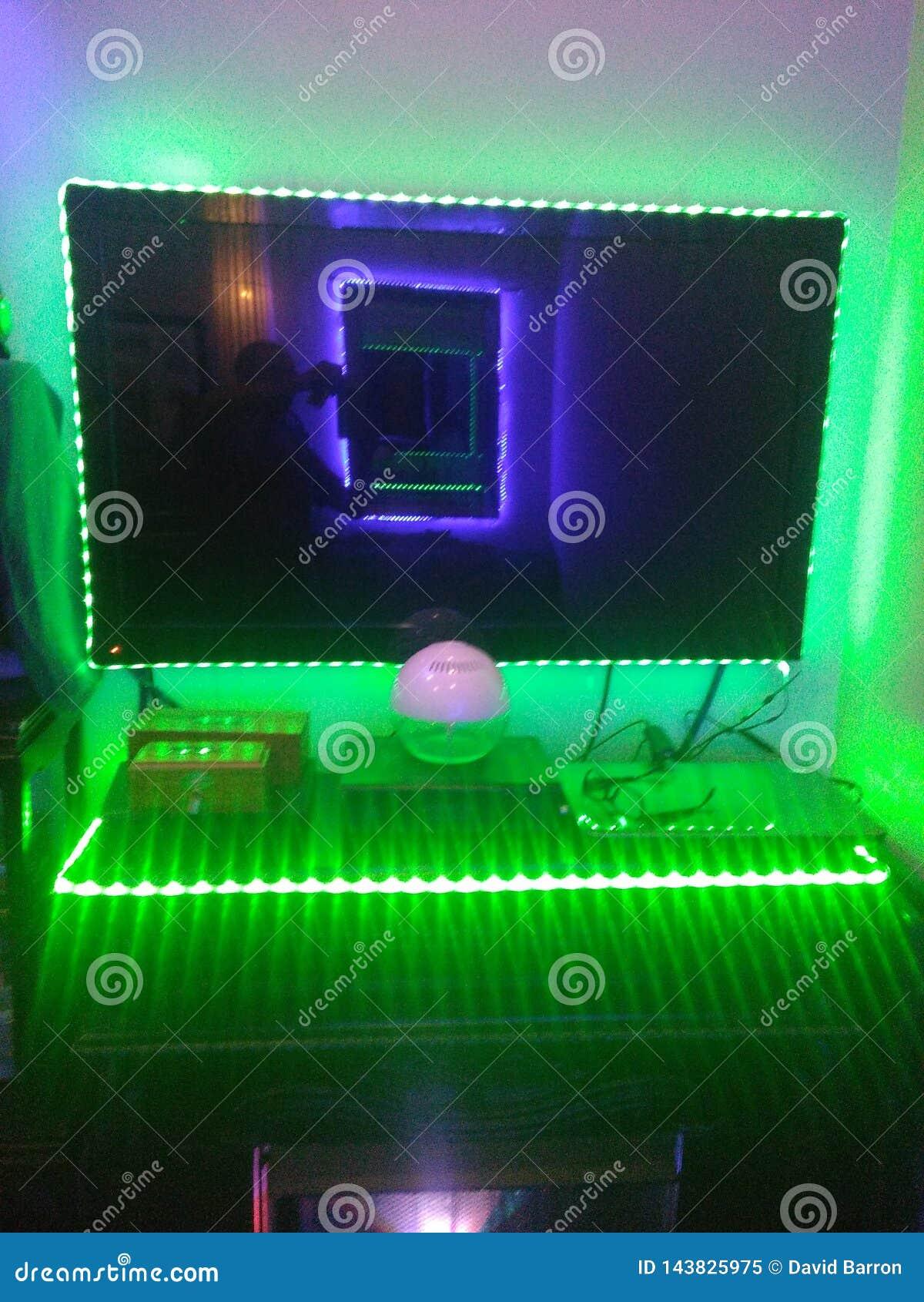 电视照明设备