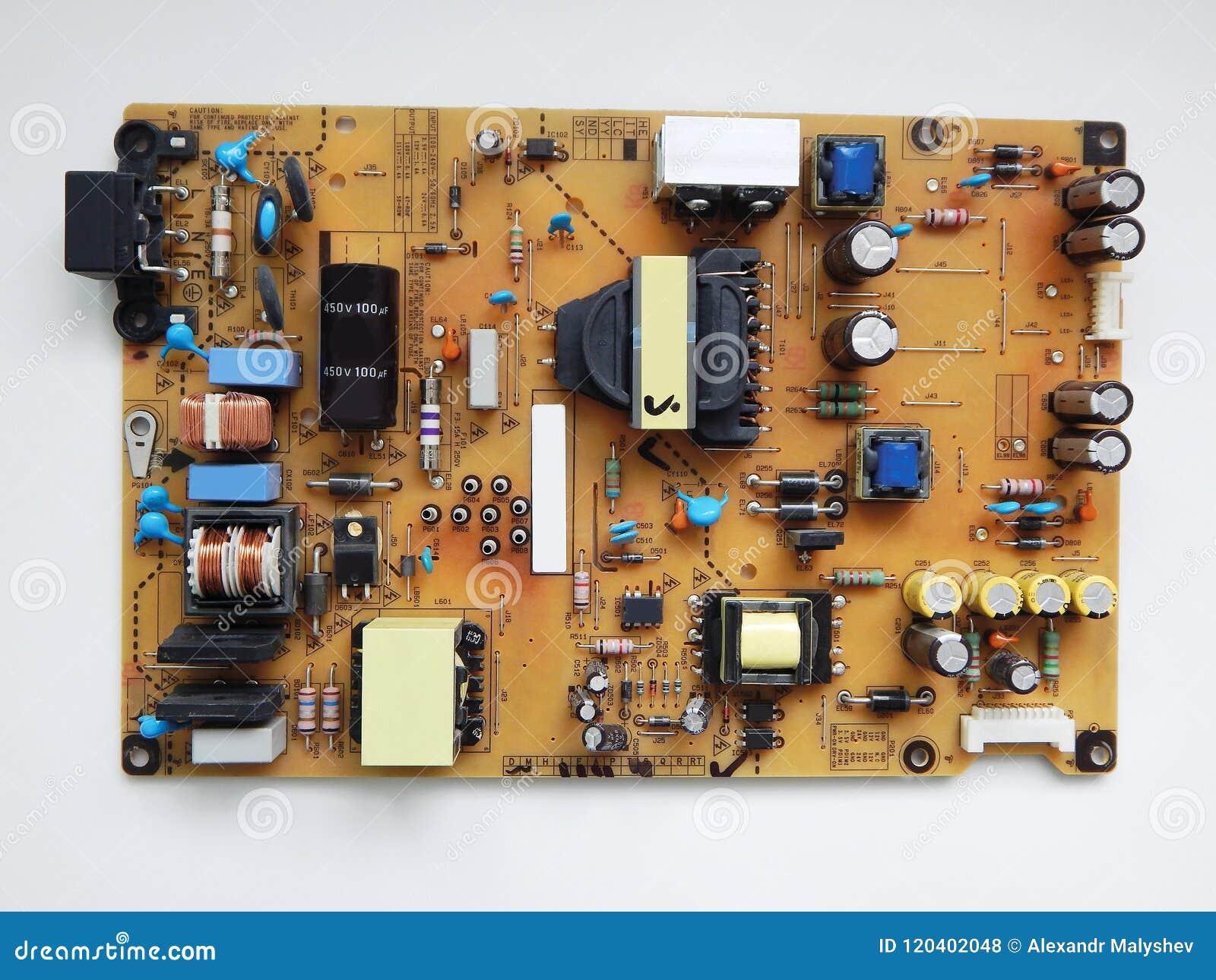 电视的电子板