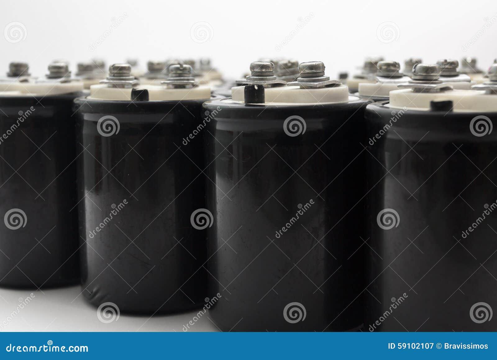 电解的电容器