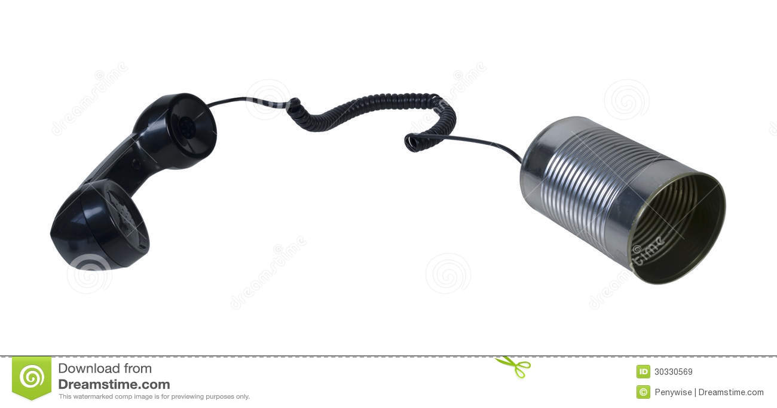 电话和锡罐电话服务