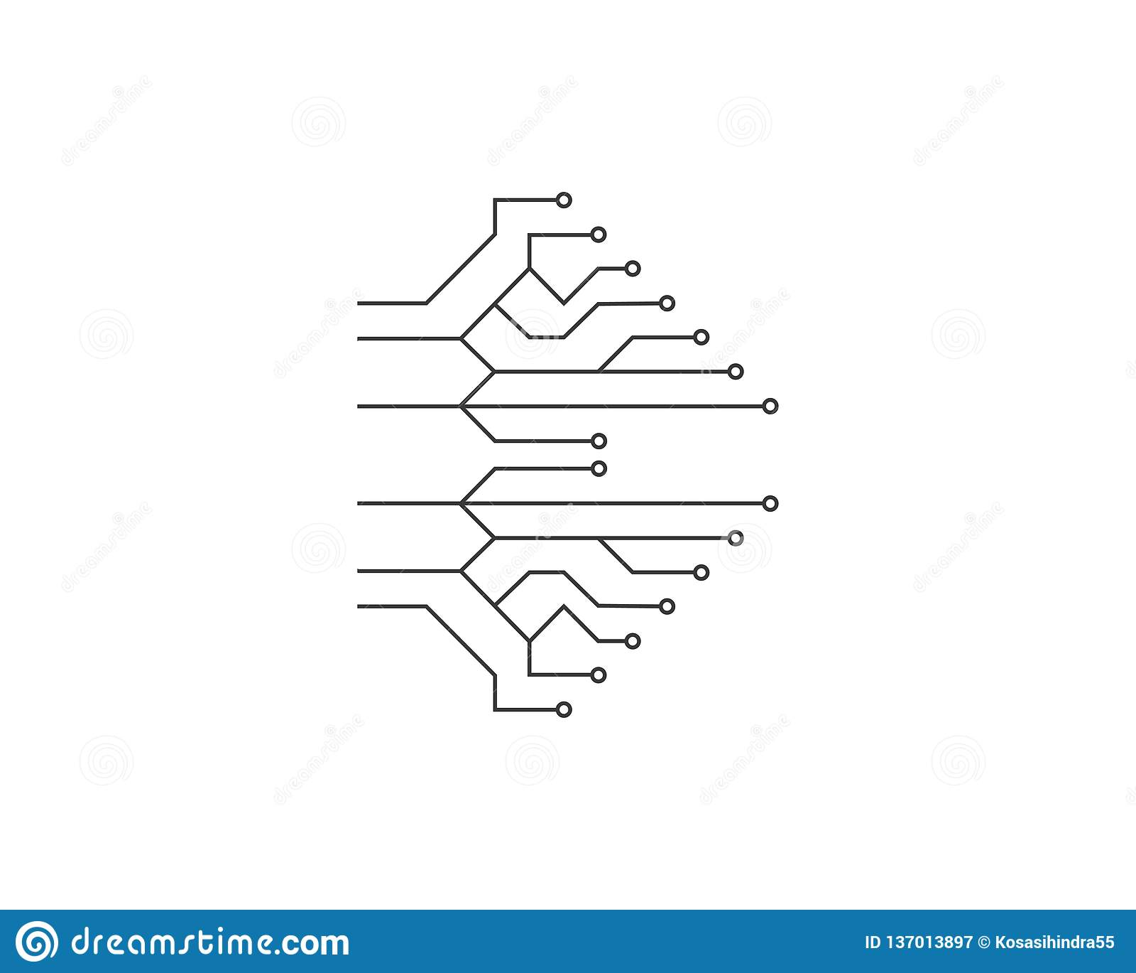 电路工艺ilustration
