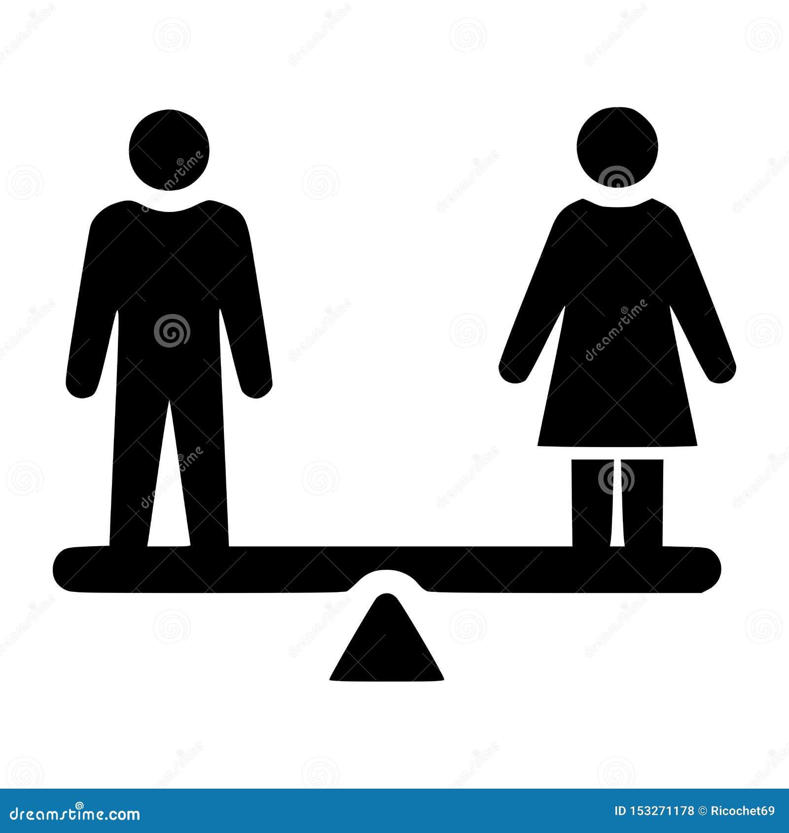 男女平等标志