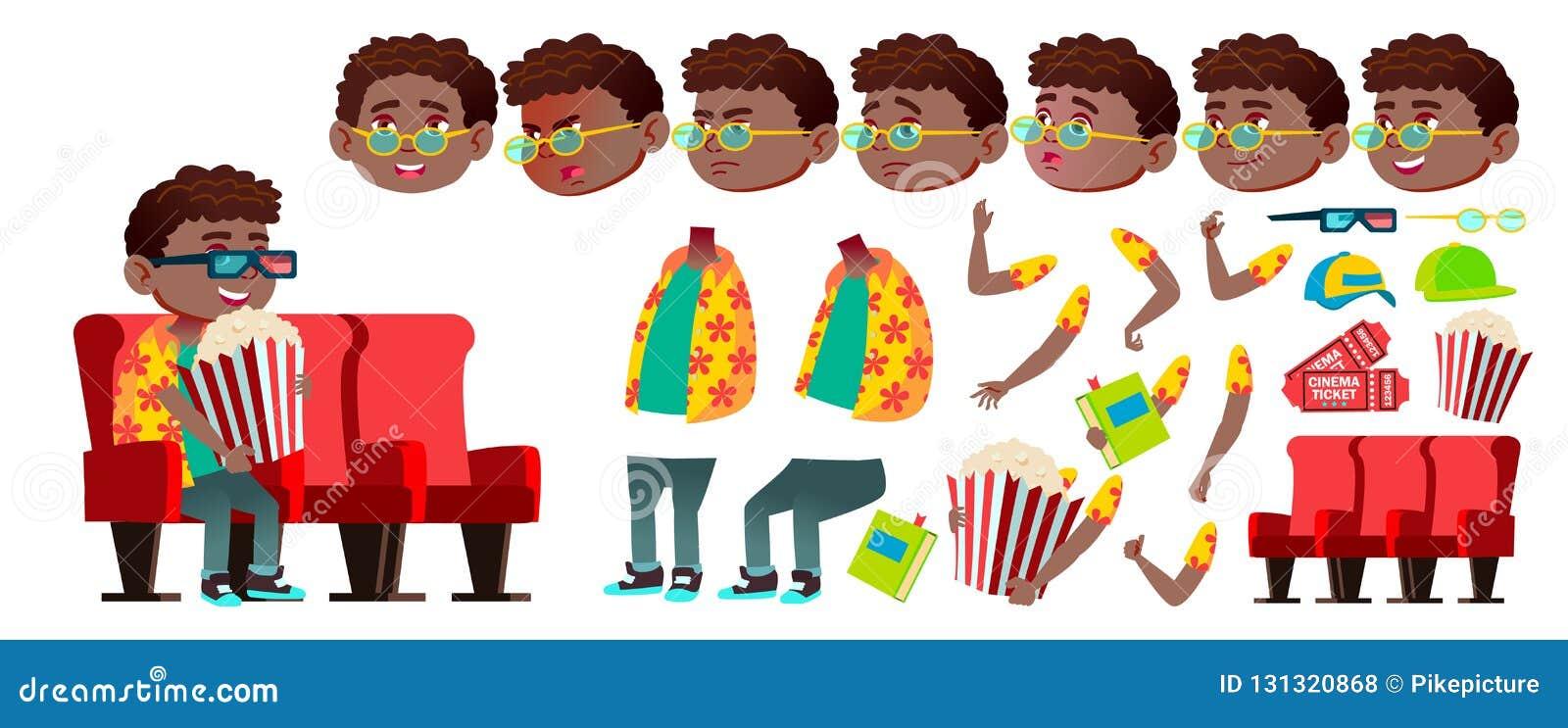 男孩男小学生孩子传染媒介 投反对票 美国黑人 动画创作集合 滑稽的子项 小辈 生活方式,友好 为