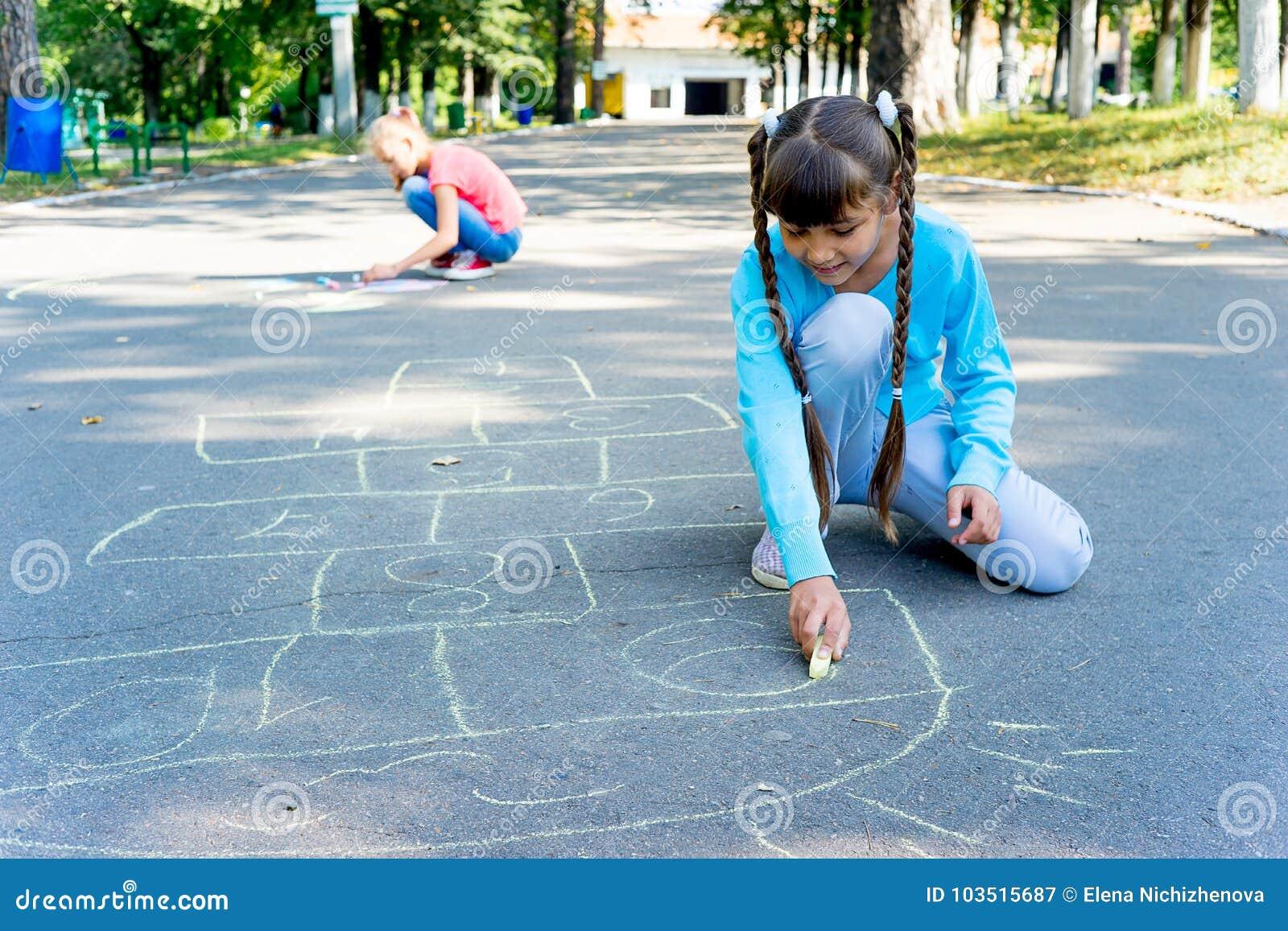画与白垩的孩子