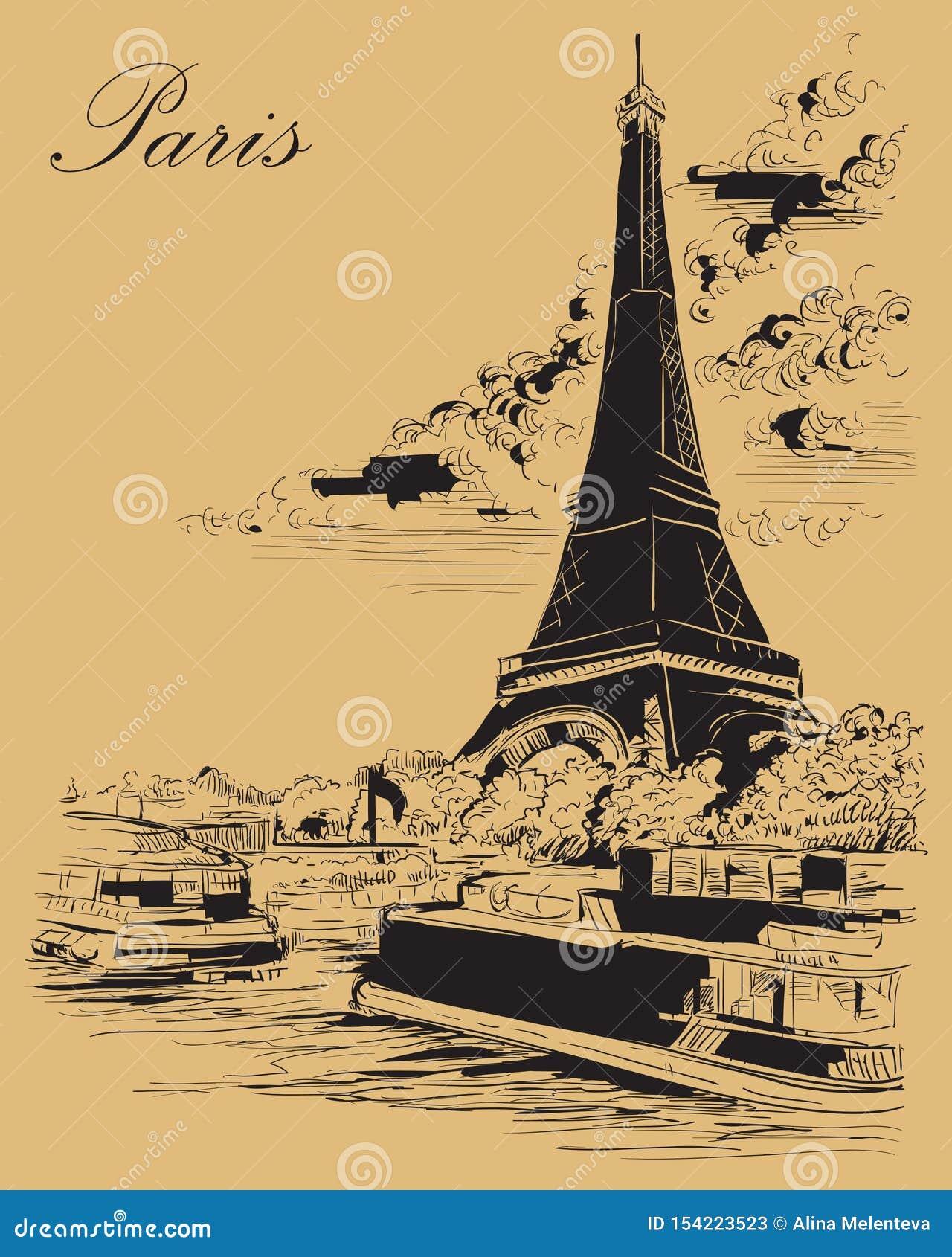 画巴黎3的米黄传染媒介手